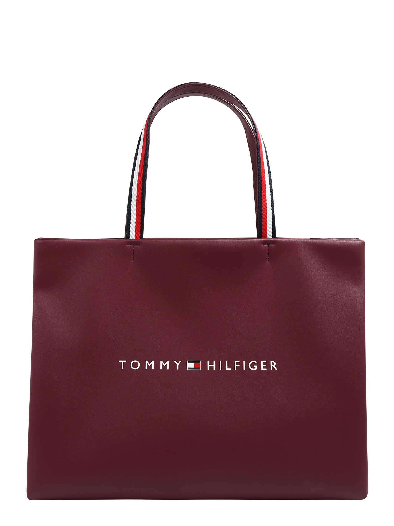 TOMMY HILFIGER Krepšys pastelinė raudona / balta / melionų spalva / tamsiai mėlyna