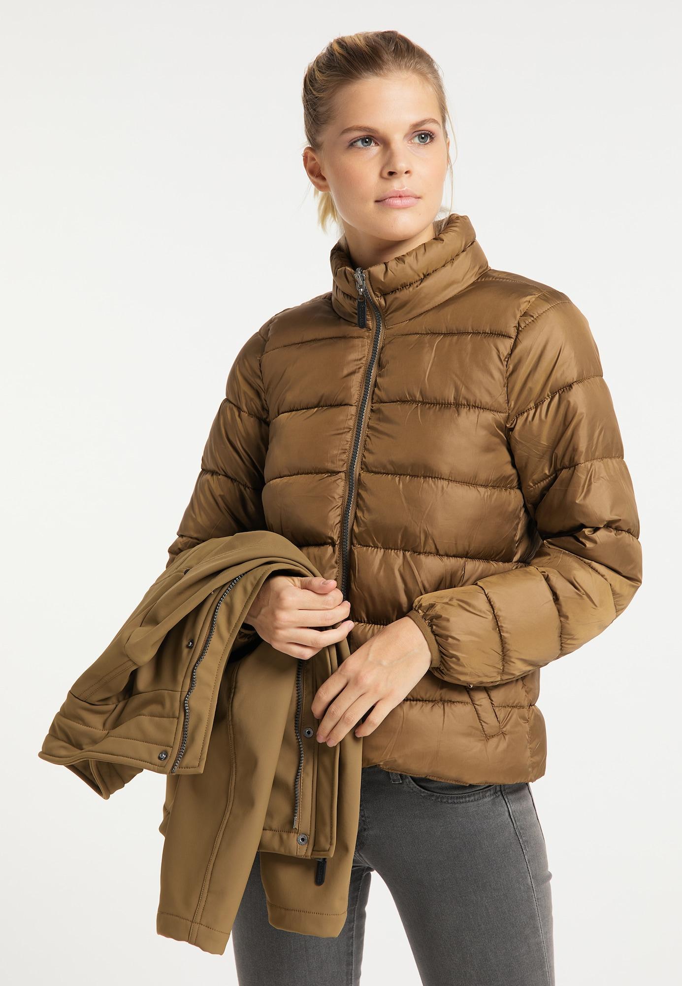 ICEBOUND Zimná bunda  piesková.