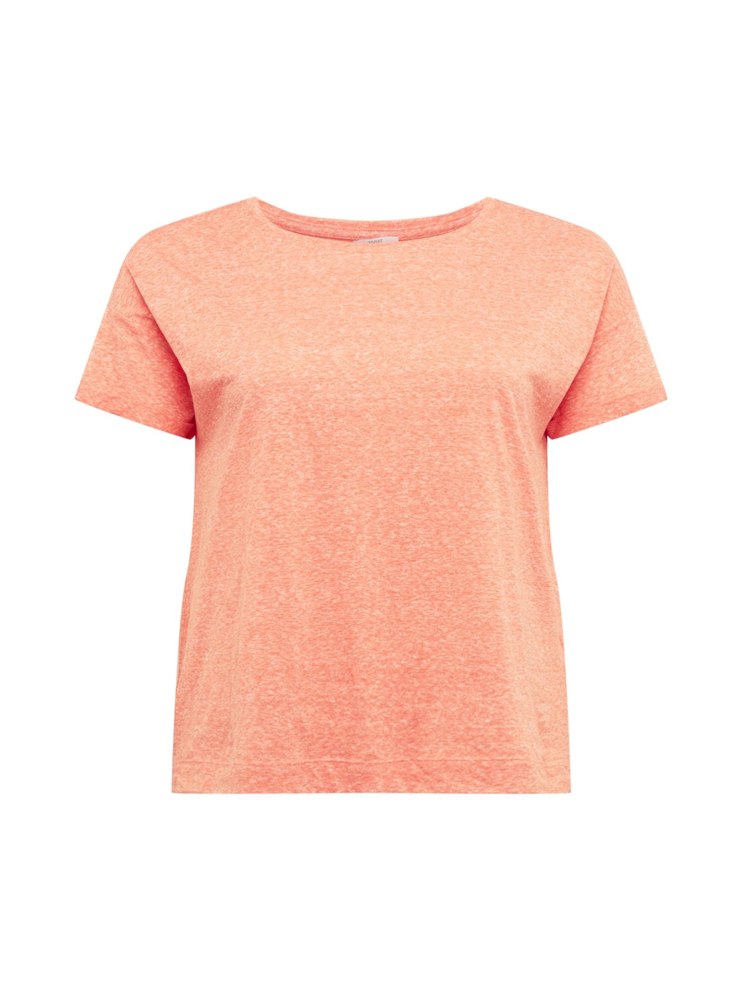 Esprit Curves Marškinėliai oranžinė-raudona