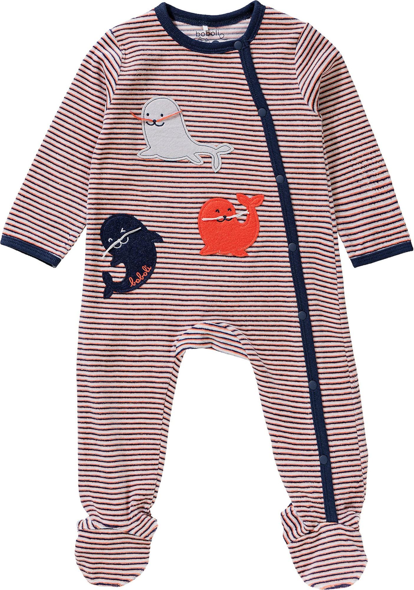 Boboli Miego kostiumas mišrios spalvos / šviesiai ruda / tamsiai mėlyna