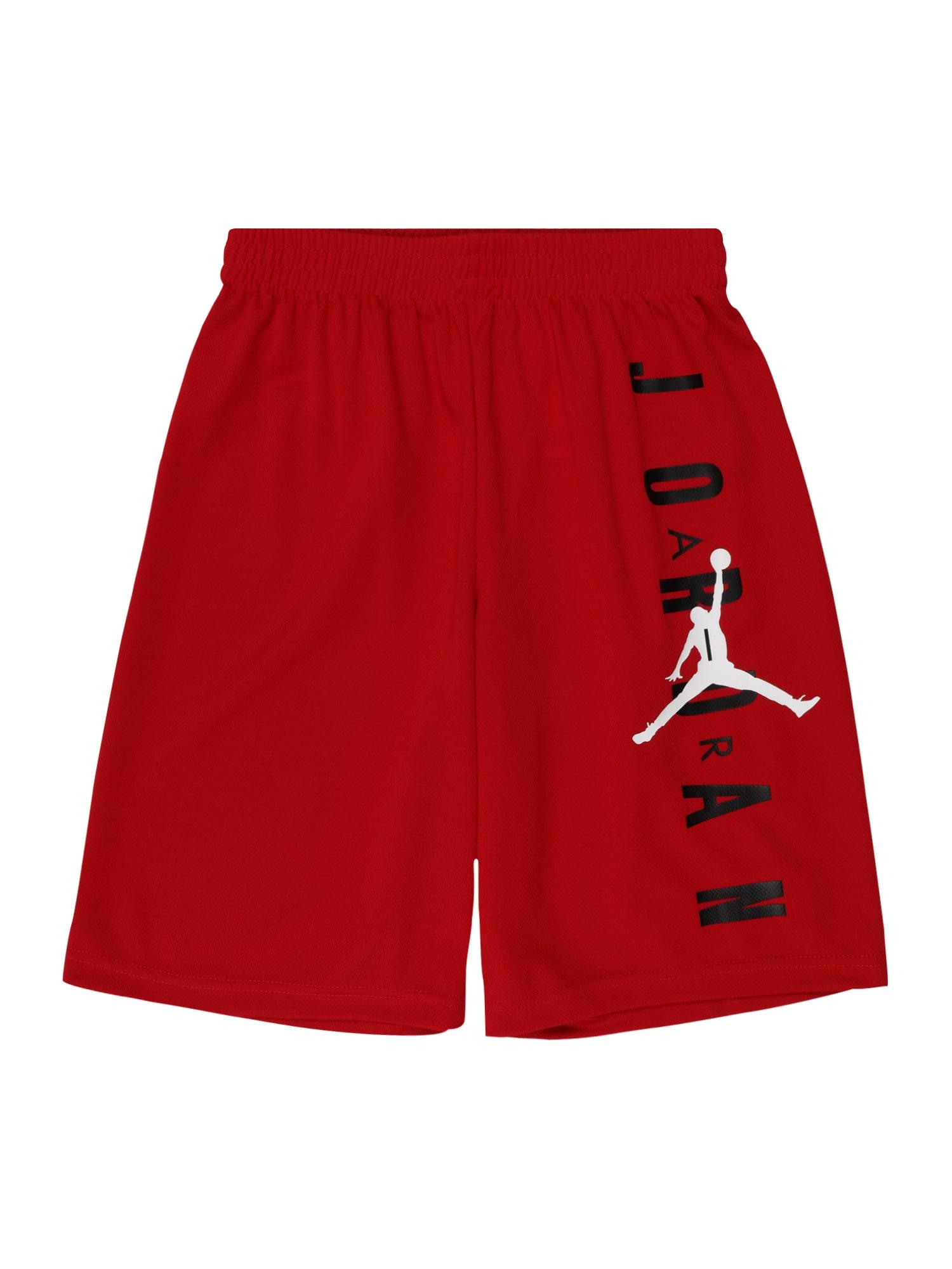 Jordan Kelnės raudona / balta / tamsiai mėlyna