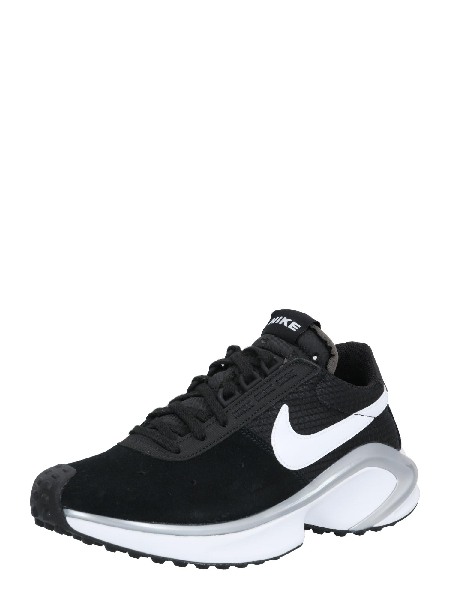 Nike Sportswear Sportbačiai su auliuku sidabrinė / juoda / balta