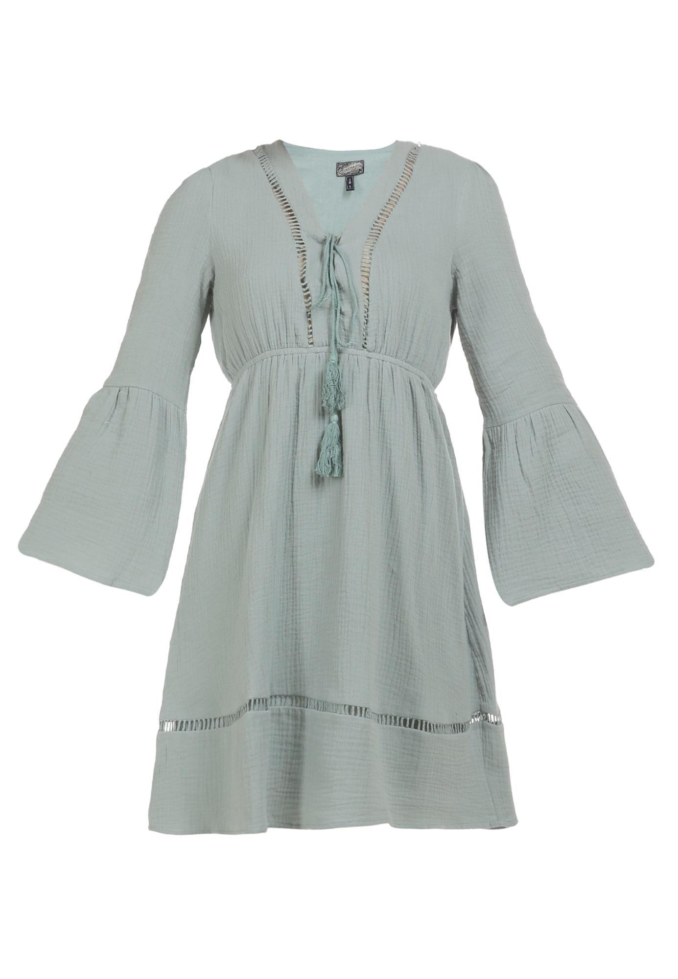 DreiMaster Vintage Vasarinė suknelė pastelinė žalia