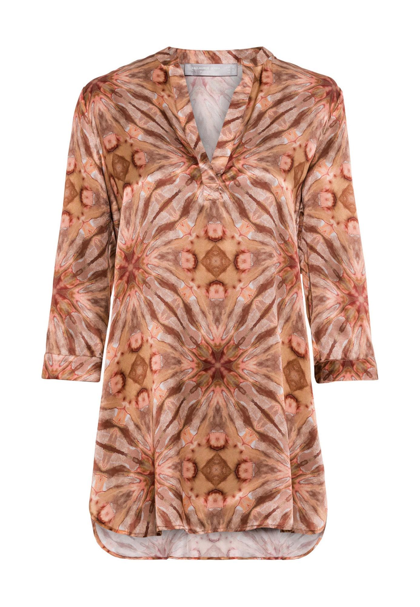 Seidentunika mit Batikdruck | Bekleidung > Tuniken > Seidentuniken | HALLHUBER