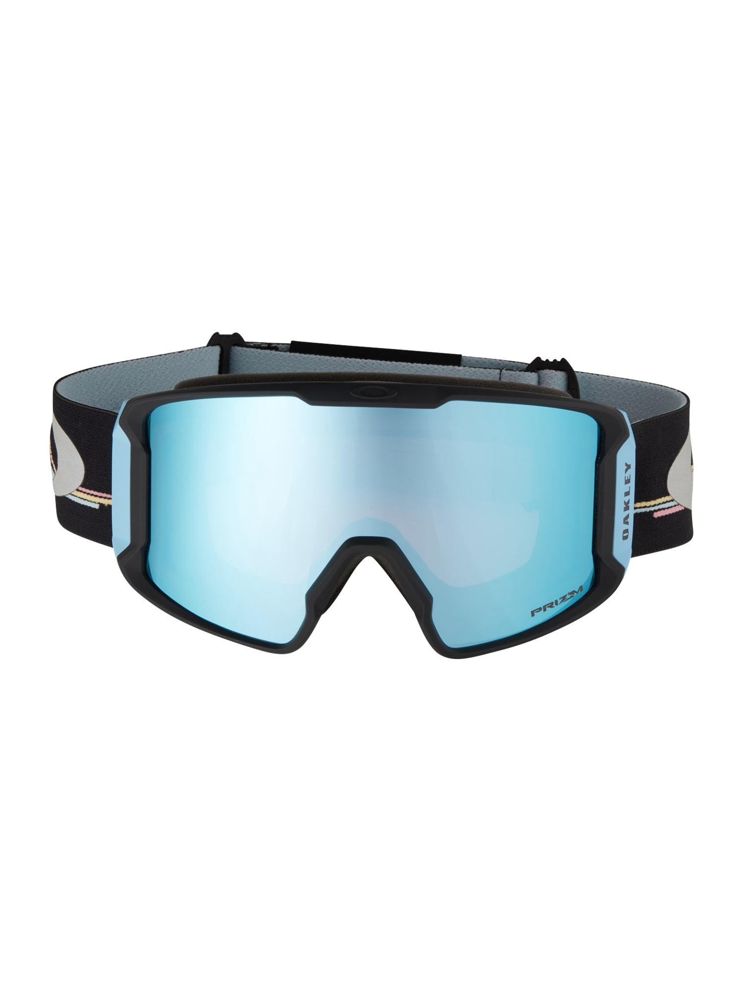 OAKLEY Sportiniai akiniai 'Line Miner L' safyro / juoda