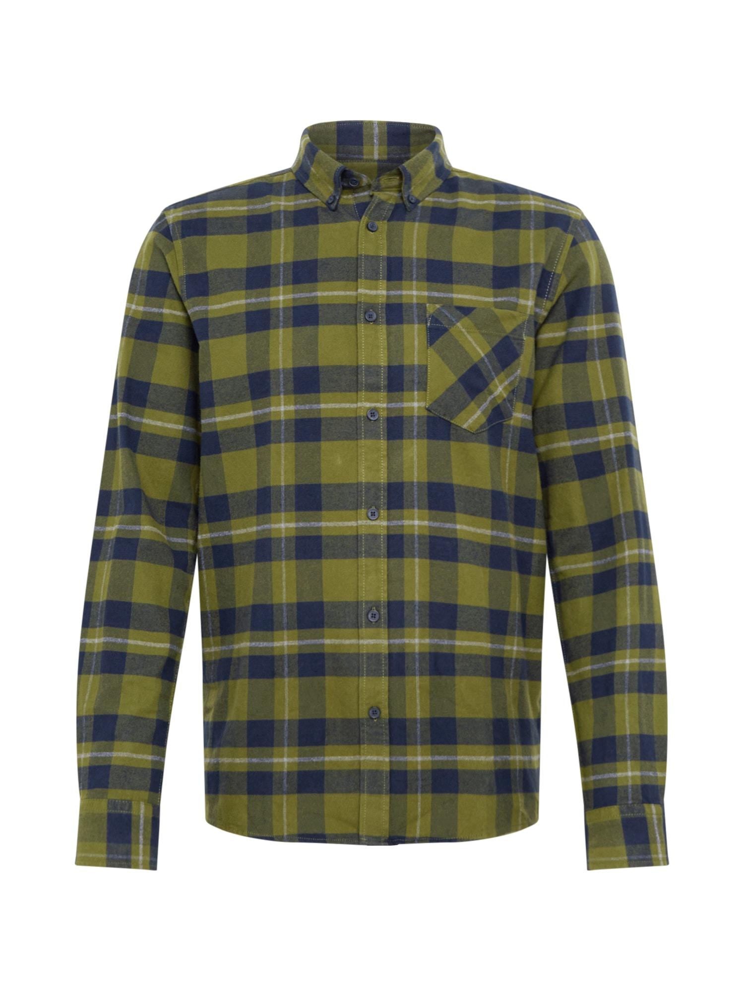 !Solid Košeľa  zelená