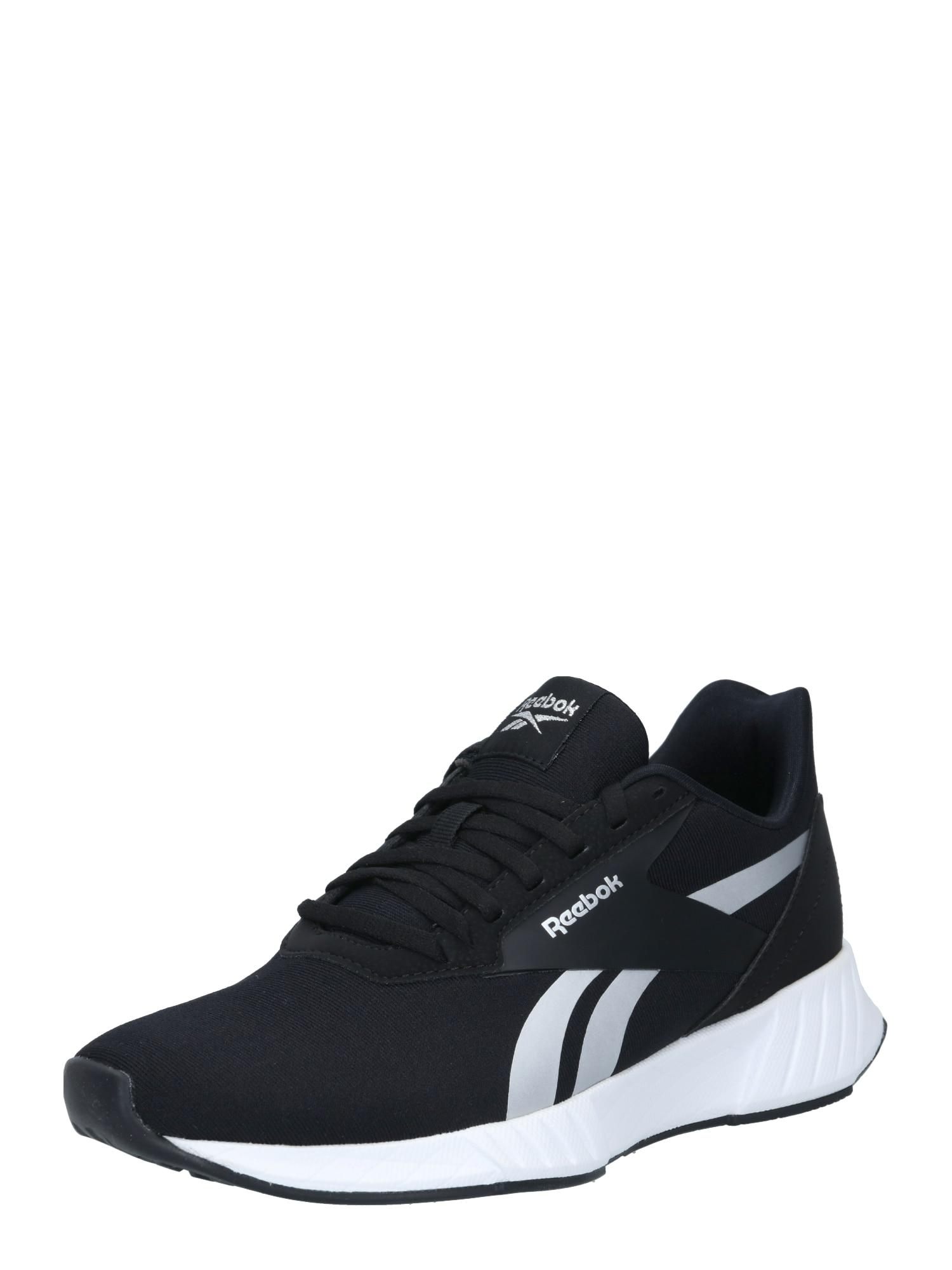 REEBOK Bėgimo batai juoda / perlų balta
