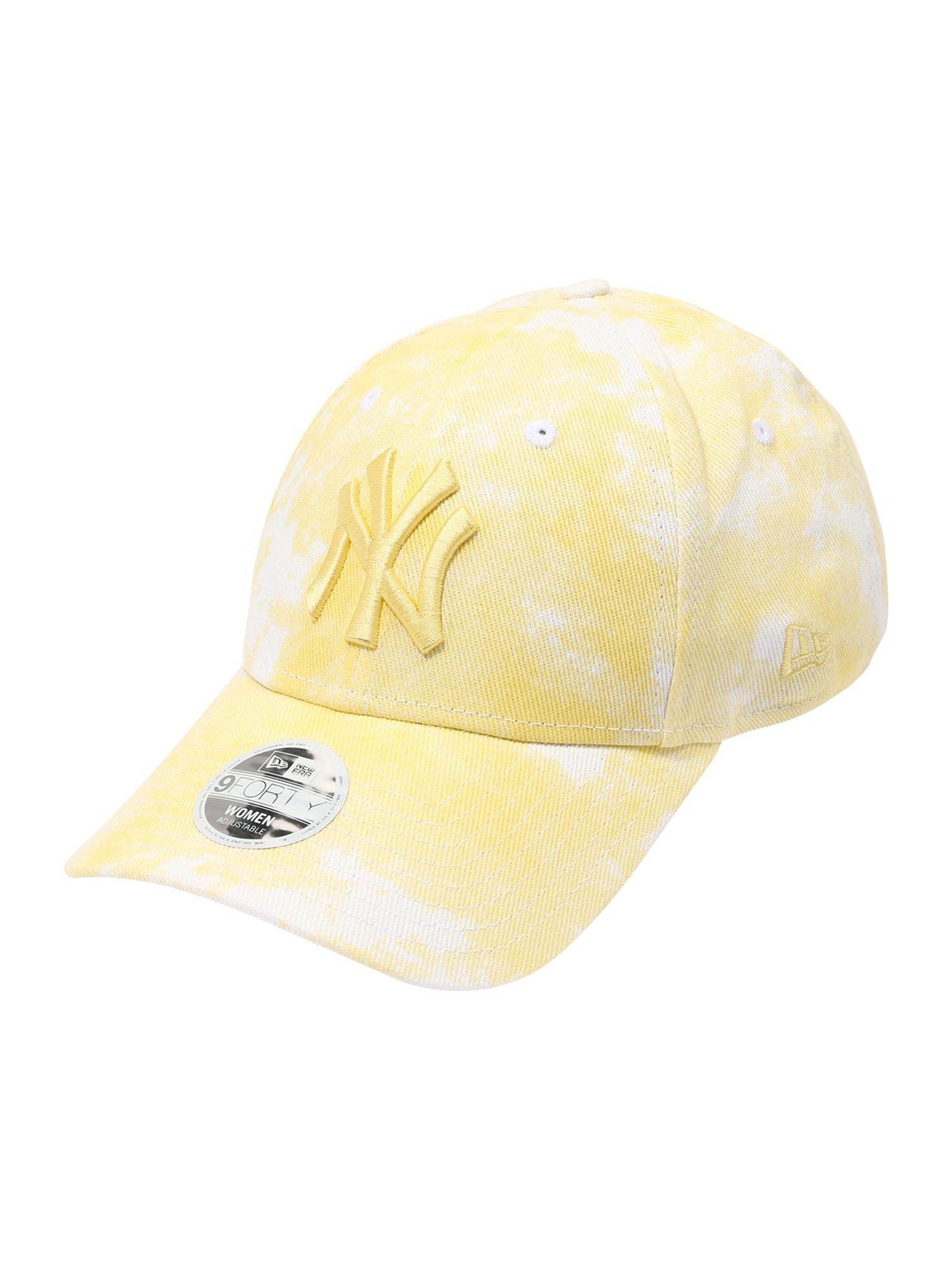 NEW ERA Kepurė geltona / balta