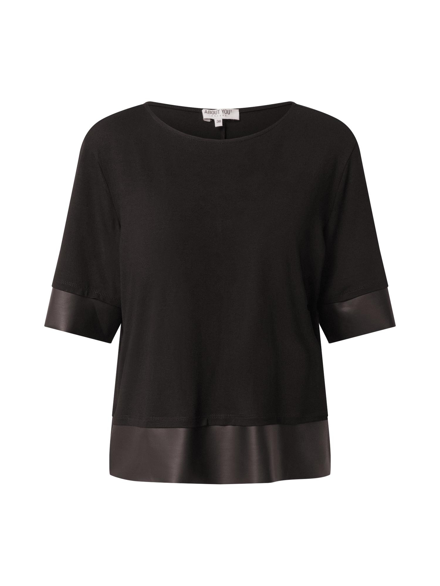 ABOUT YOU Marškinėliai 'Ilka' juoda