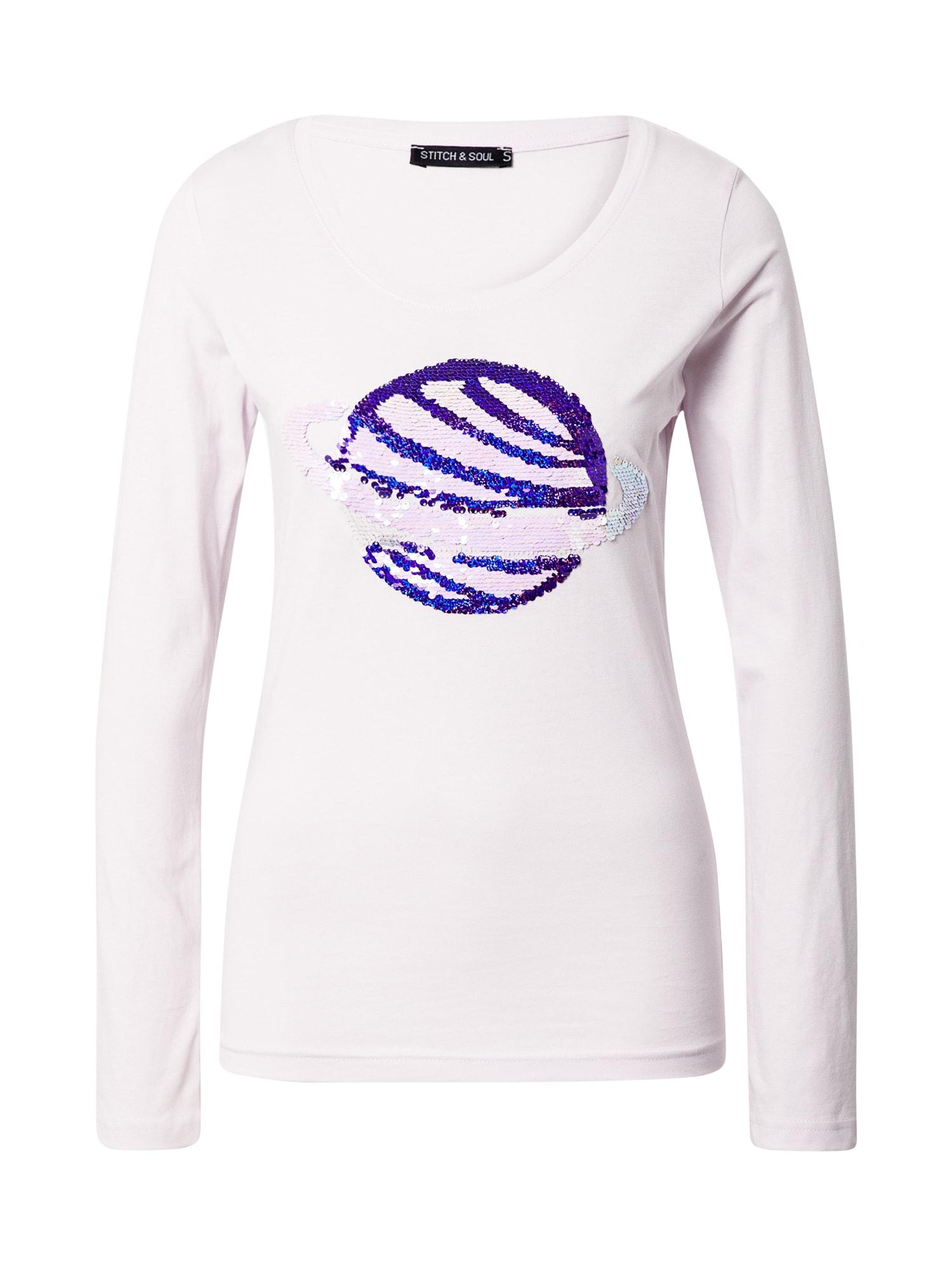 Stitch and Soul Marškinėliai rožinė / purpurinė