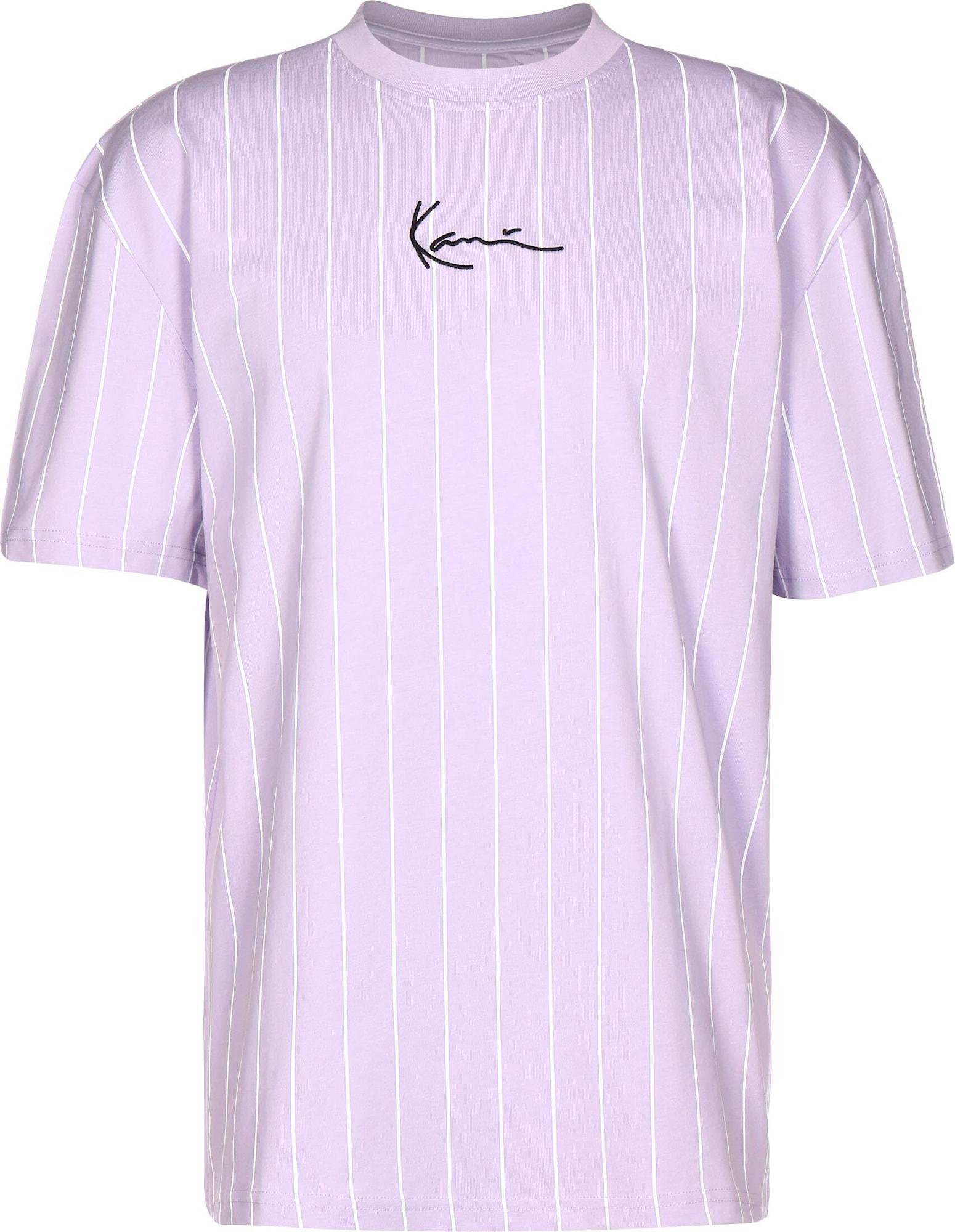 Karl Kani Marškinėliai purpurinė / balta / juoda