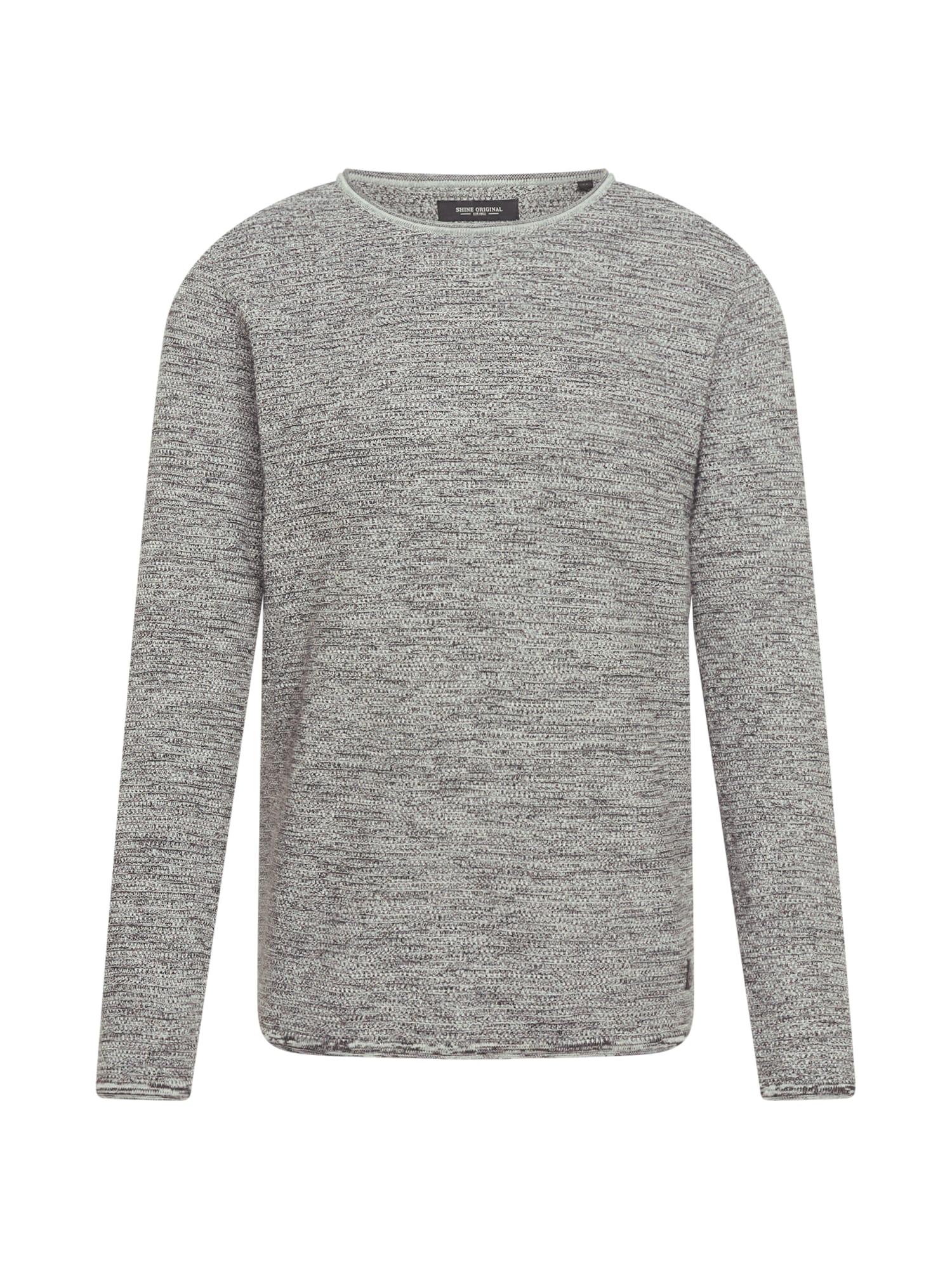 SHINE ORIGINAL Megztinis margai pilka
