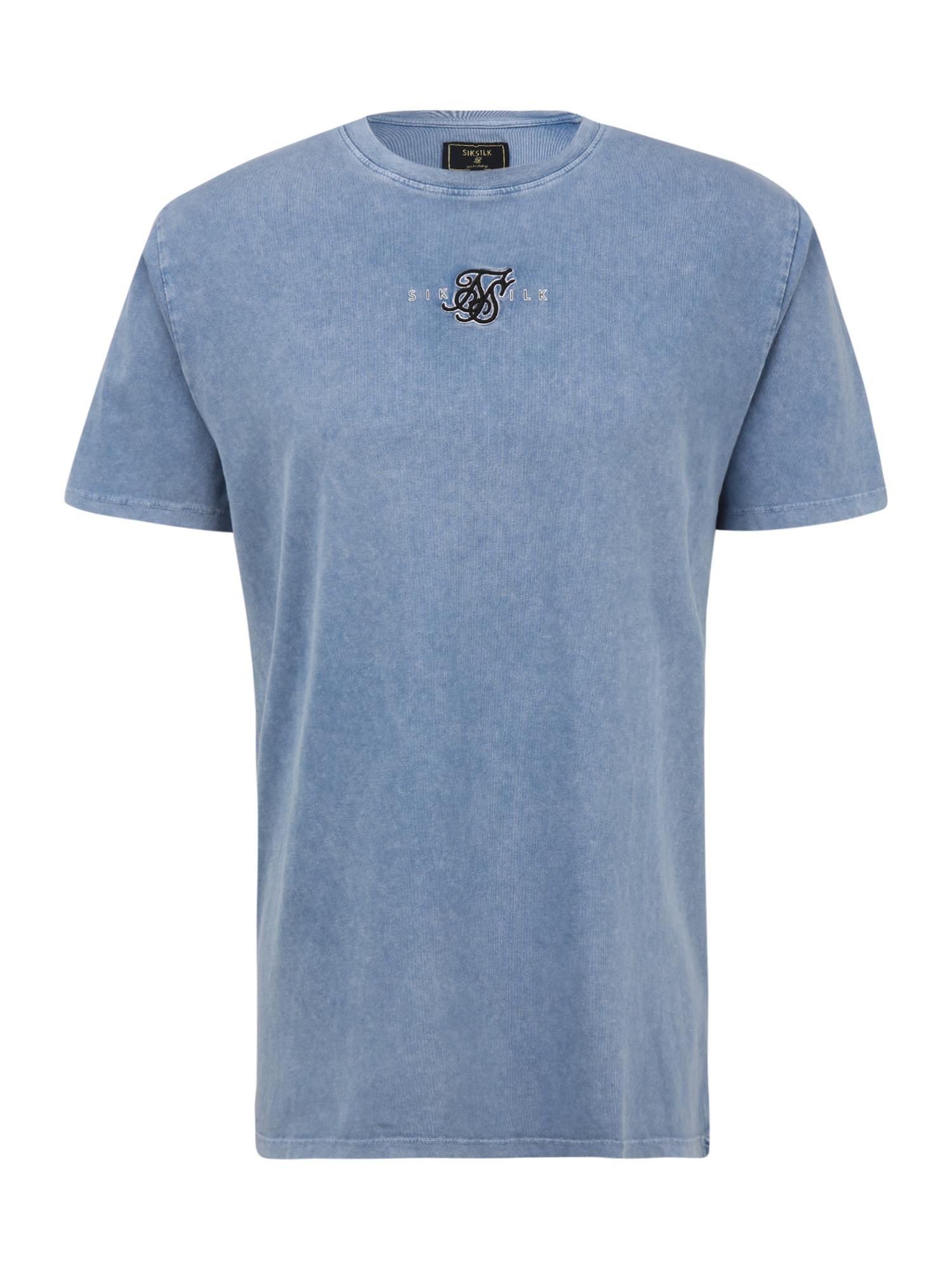 SikSilk Marškinėliai tamsiai (džinso) mėlyna
