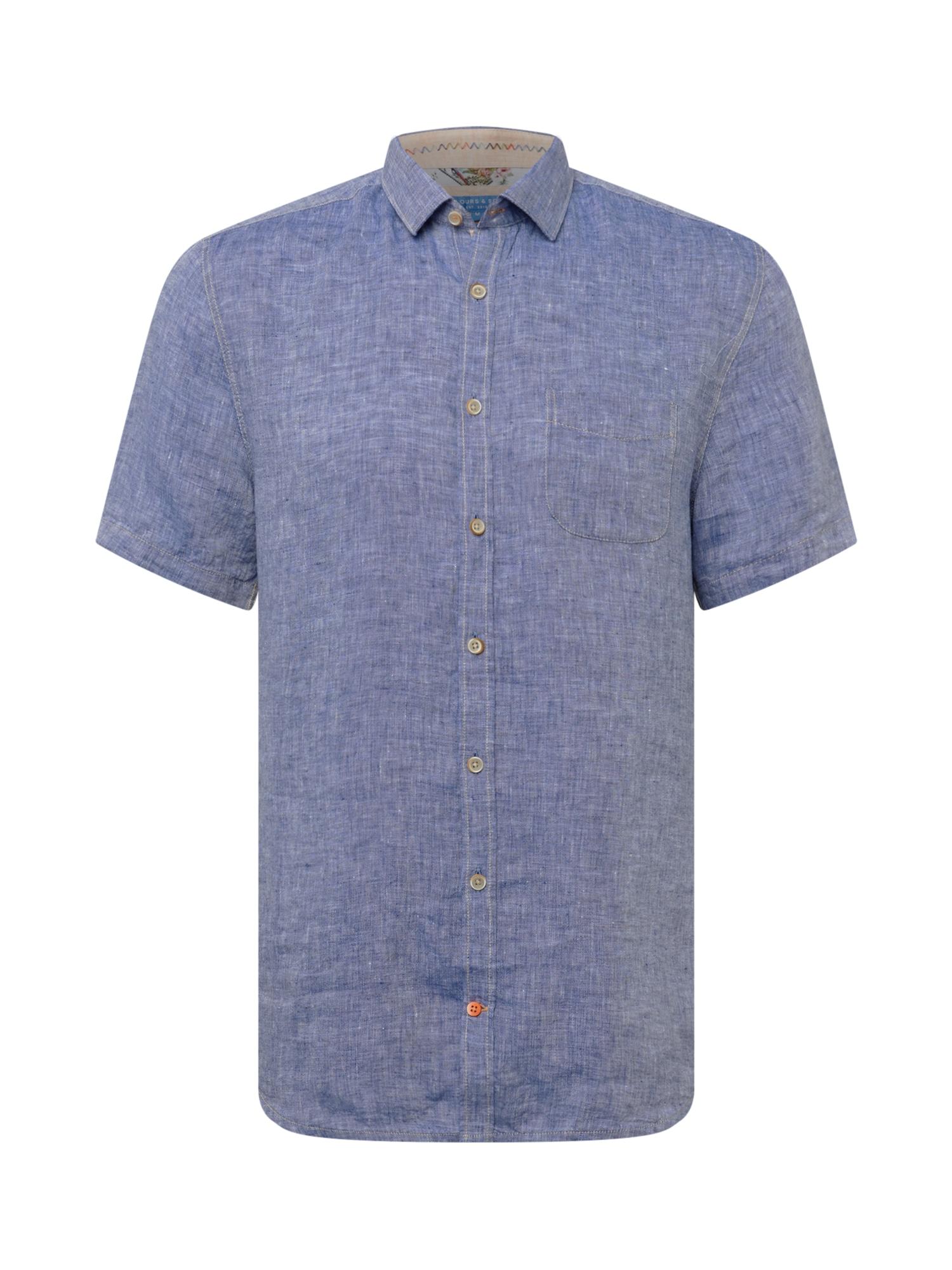 COLOURS & SONS Marškiniai tamsiai mėlyna