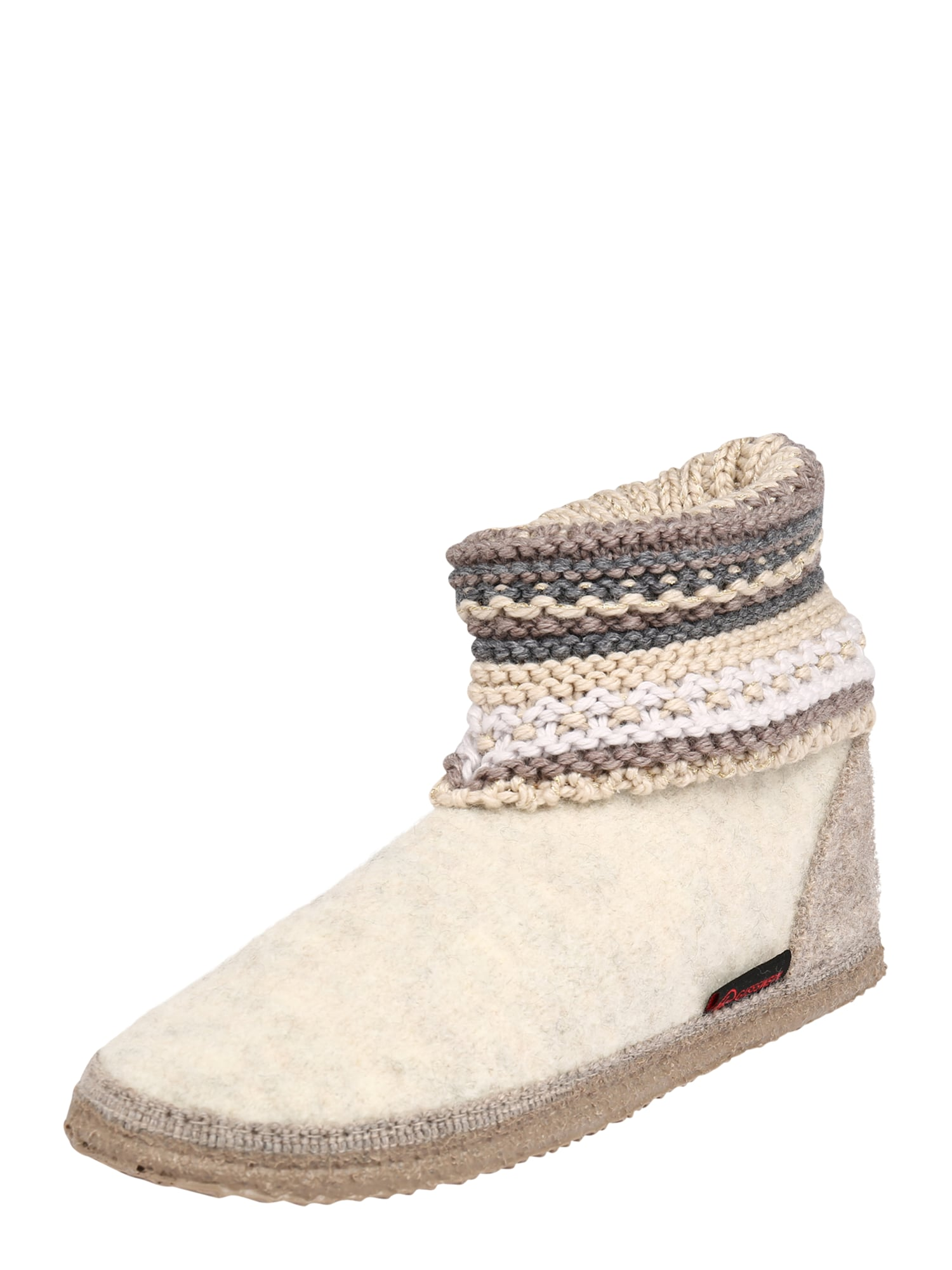 GIESSWEIN Pantofle 'Kiel'  béžová / bílá