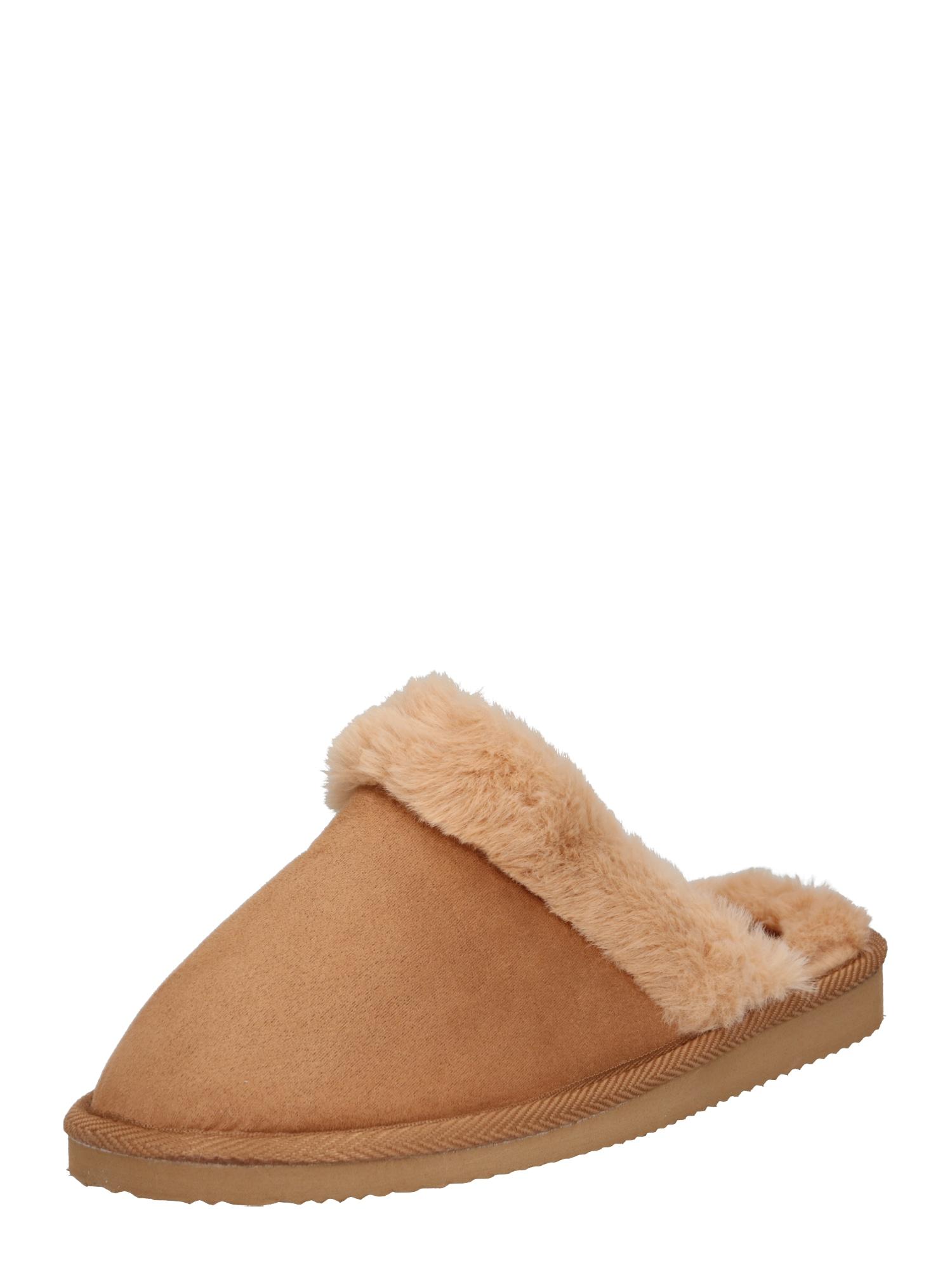 ABOUT YOU Naminės šlepetės 'Liliana Shoes' šviesiai ruda