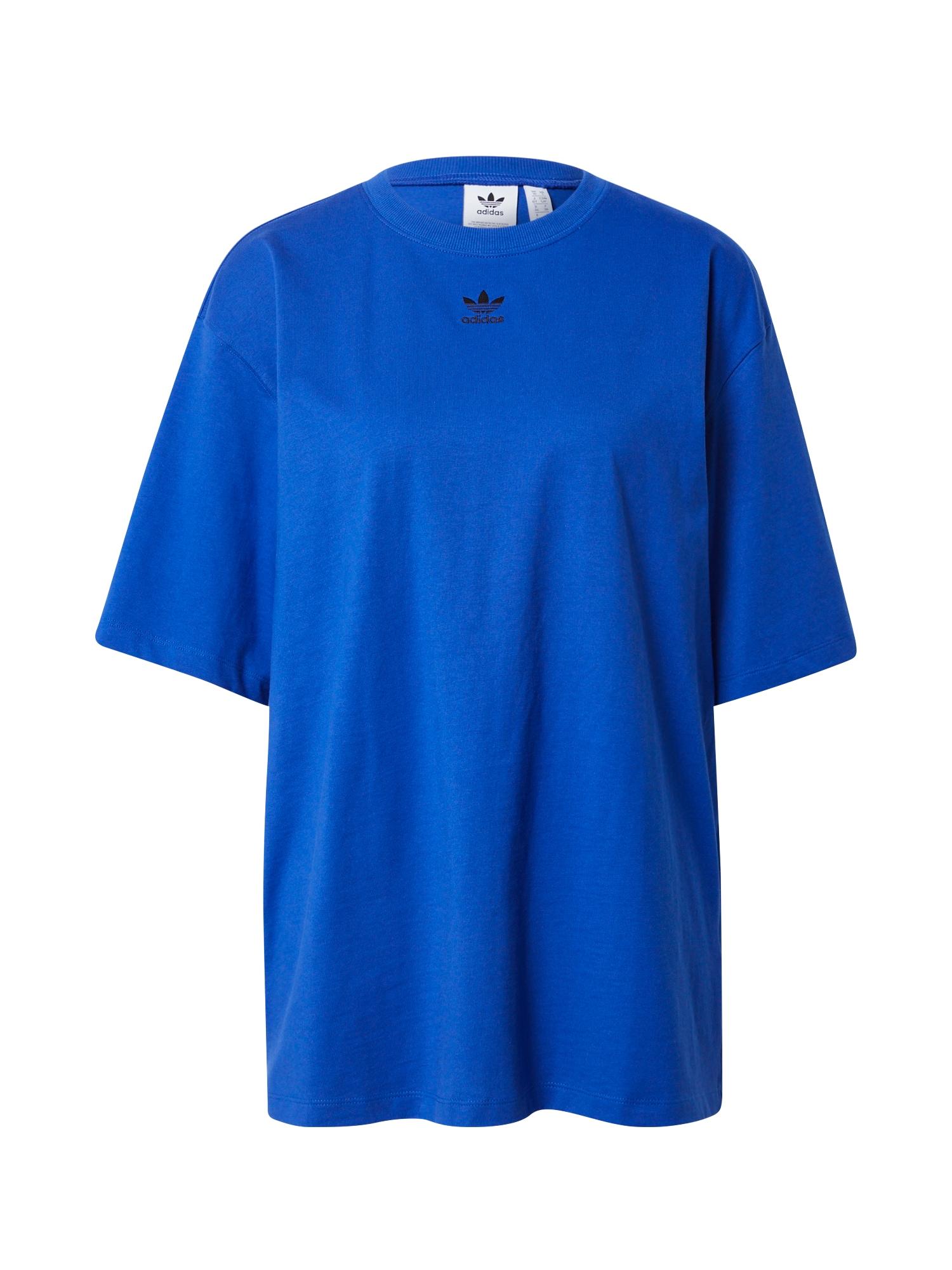 """ADIDAS ORIGINALS Marškinėliai juoda / sodri mėlyna (""""karališka"""")"""