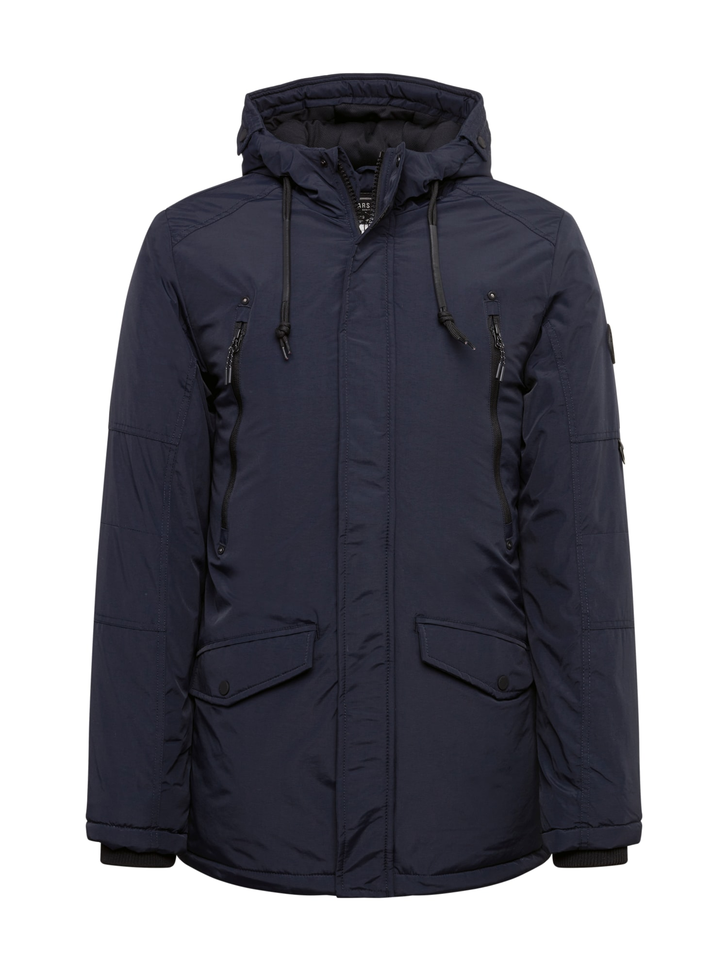 Cars Jeans Zimní bunda 'AOSTA'  námořnická modř