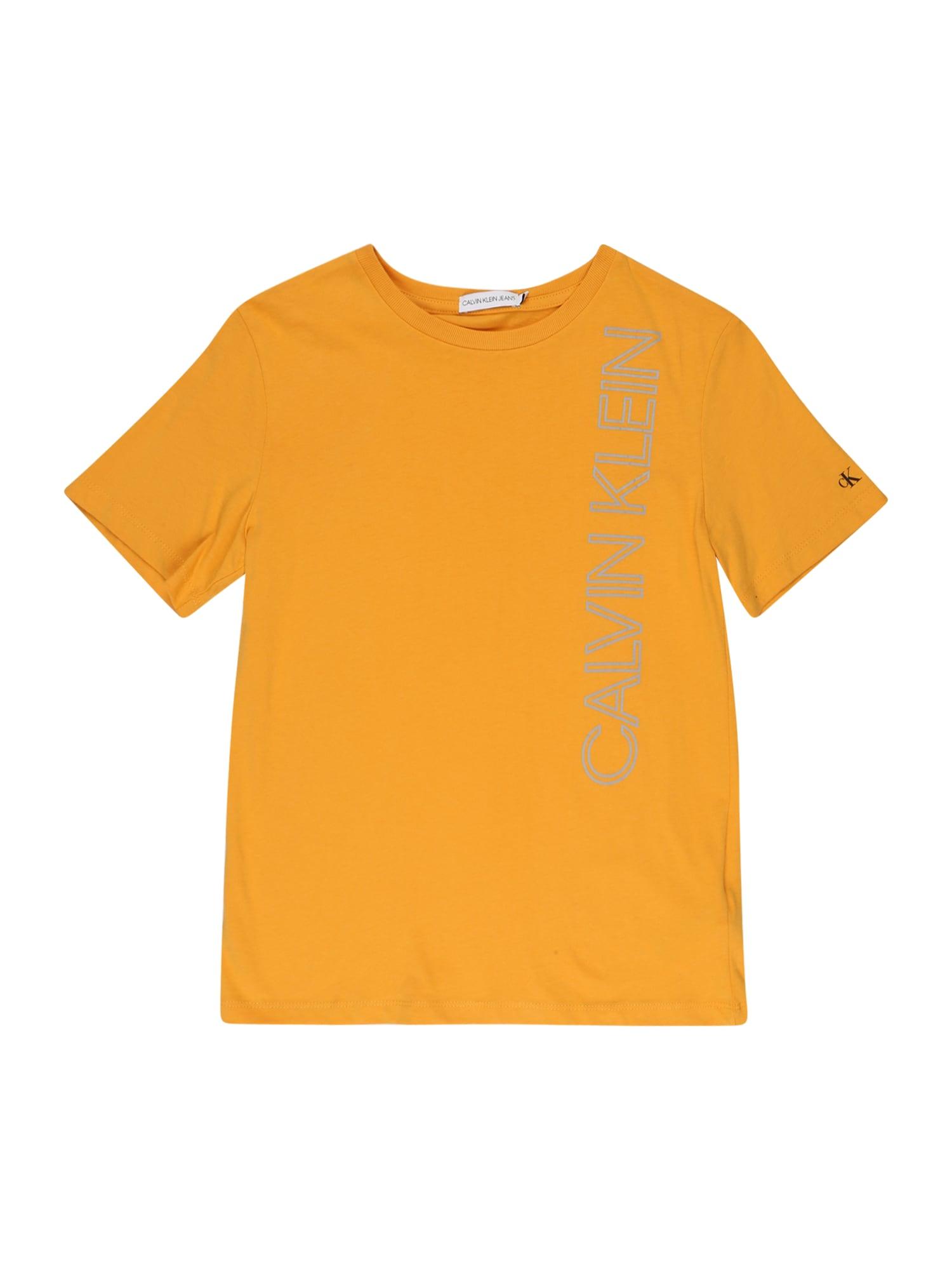 Calvin Klein Jeans Marškinėliai geltona