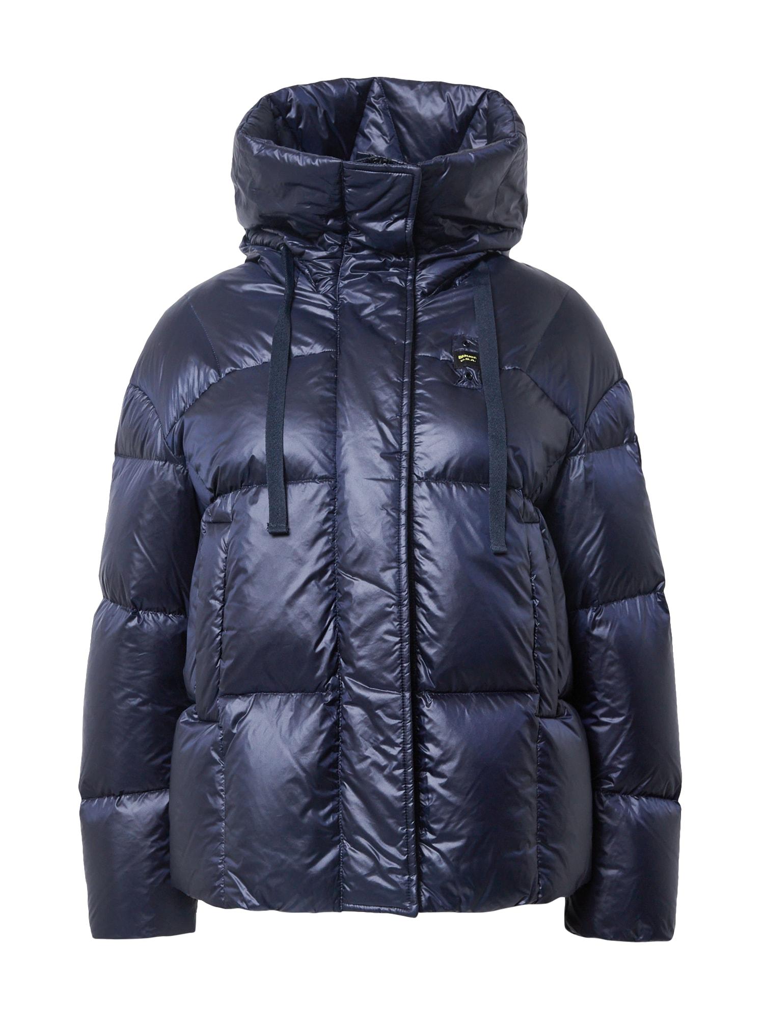 Blauer.USA Žieminė striukė tamsiai mėlyna