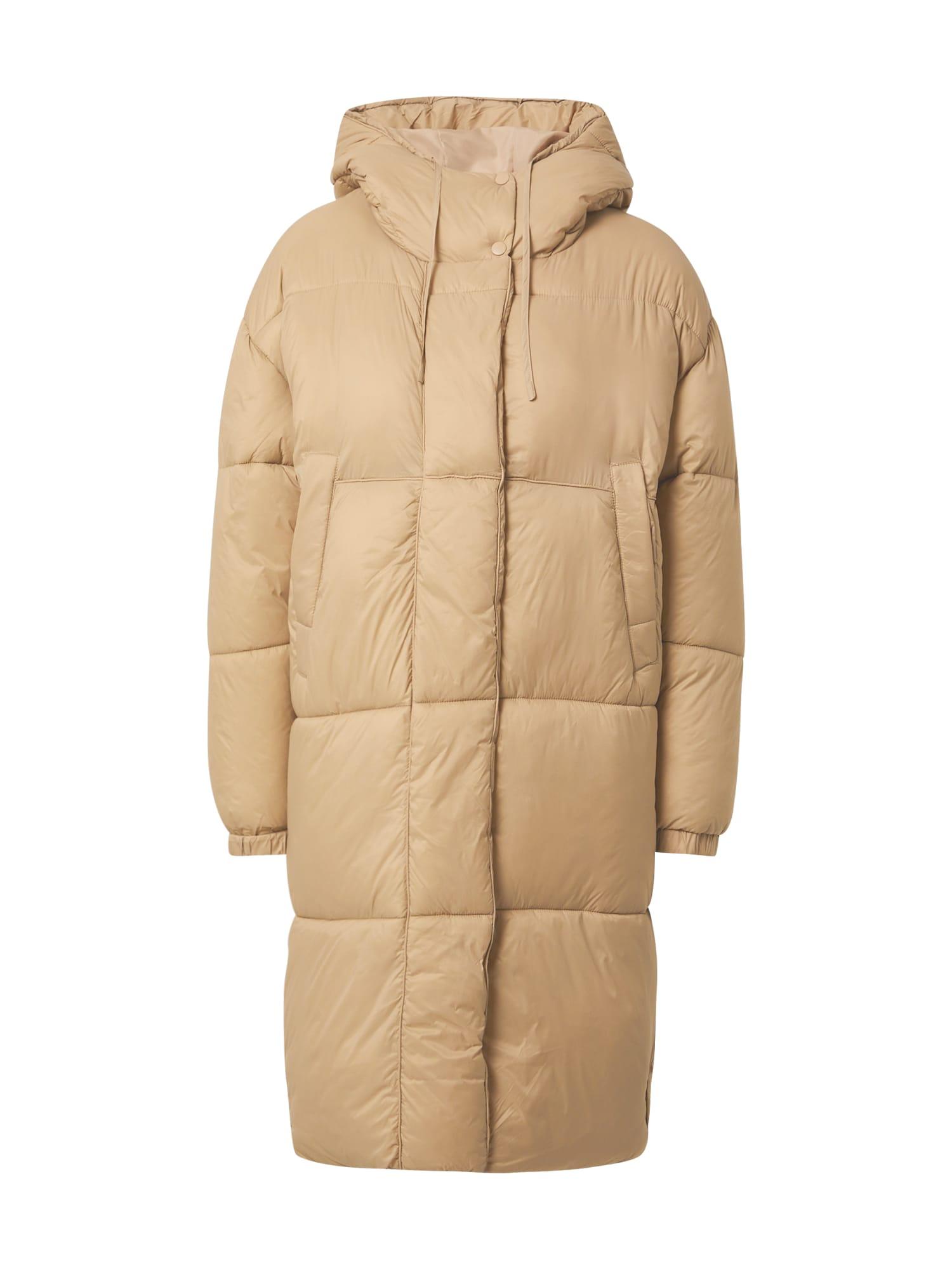 Gina Tricot Žieminis paltas smėlio