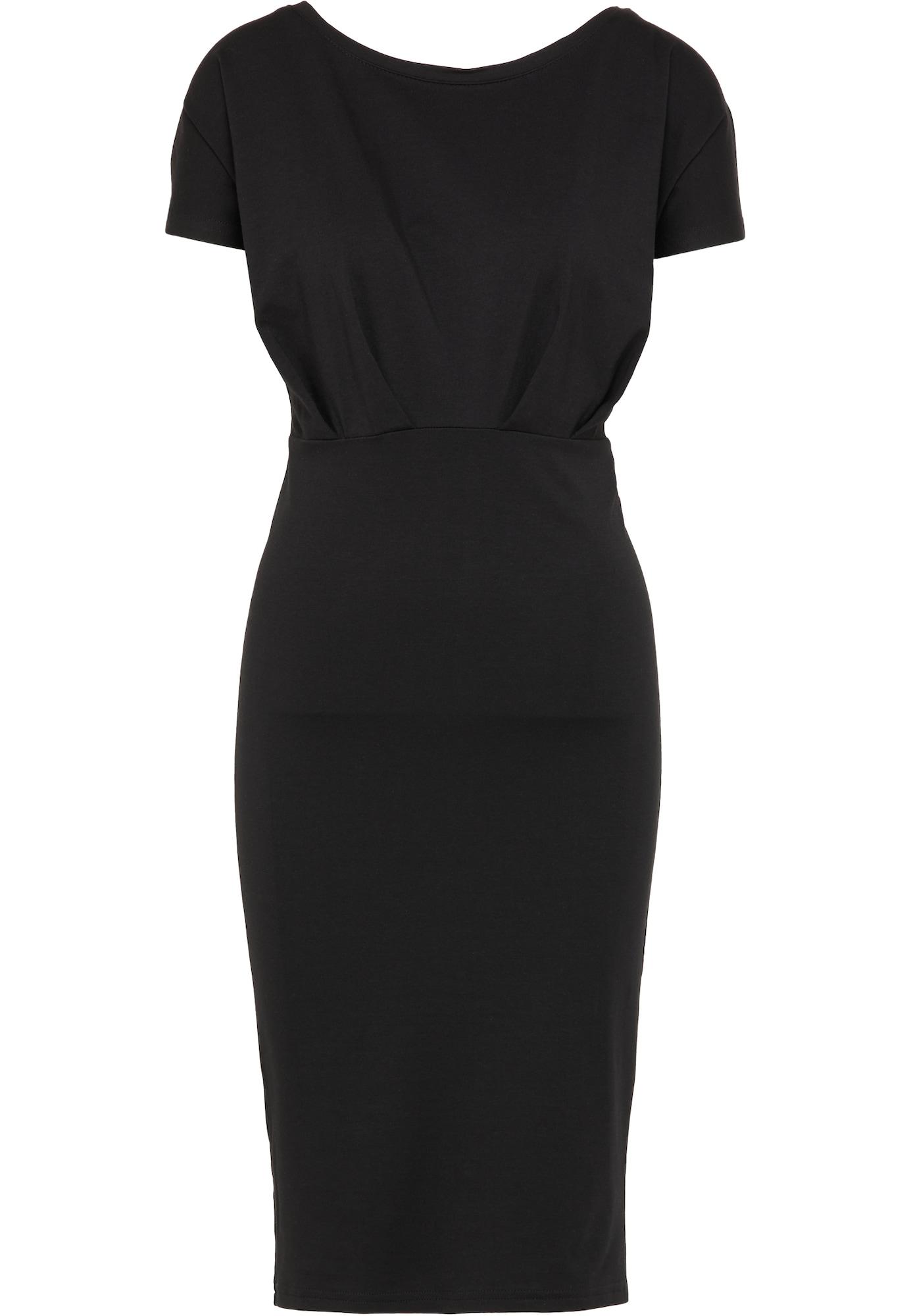 DreiMaster Klassik Trumpa kokteilinė suknelė juoda