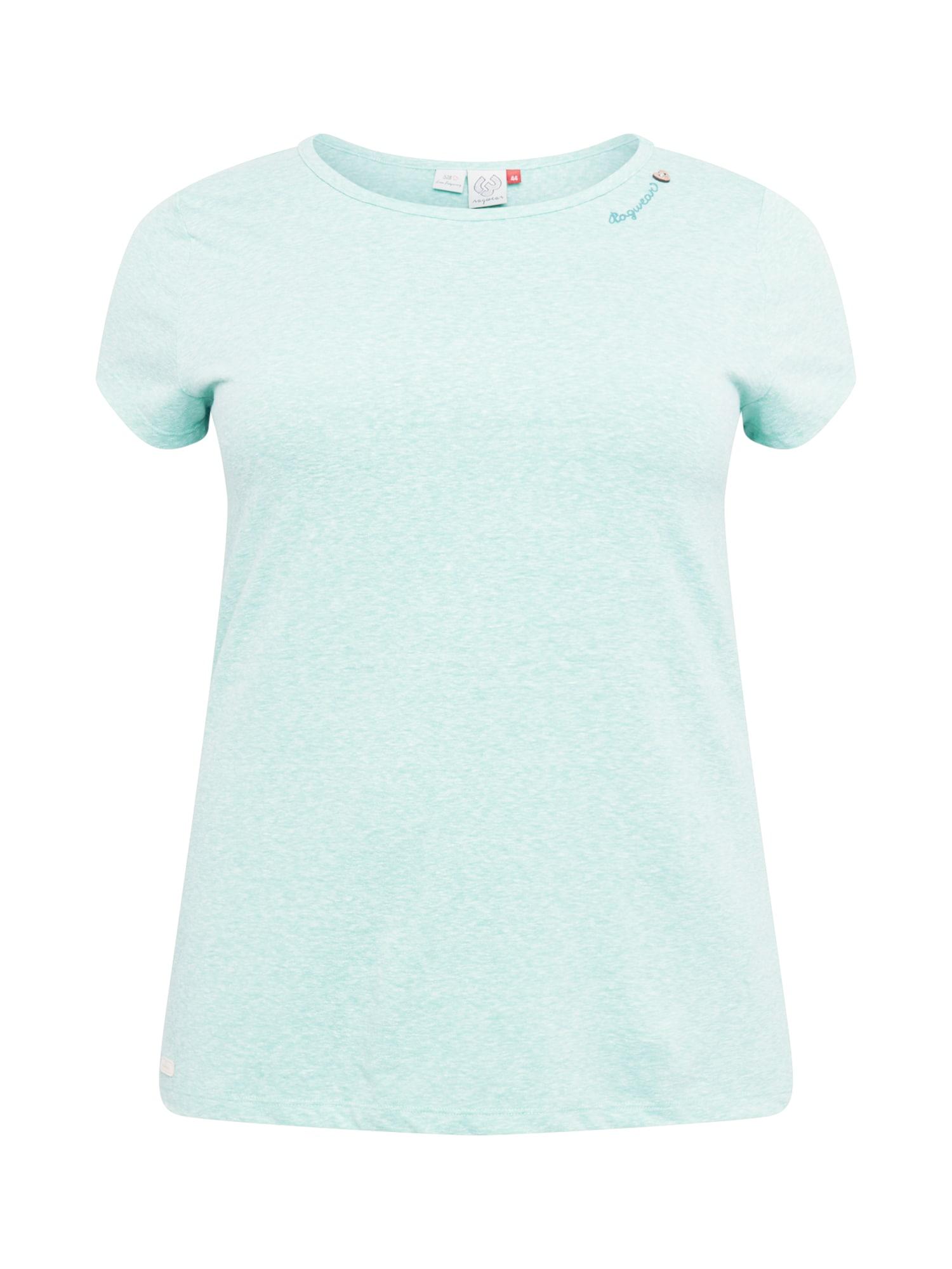 Ragwear Plus Marškinėliai mėtų spalva