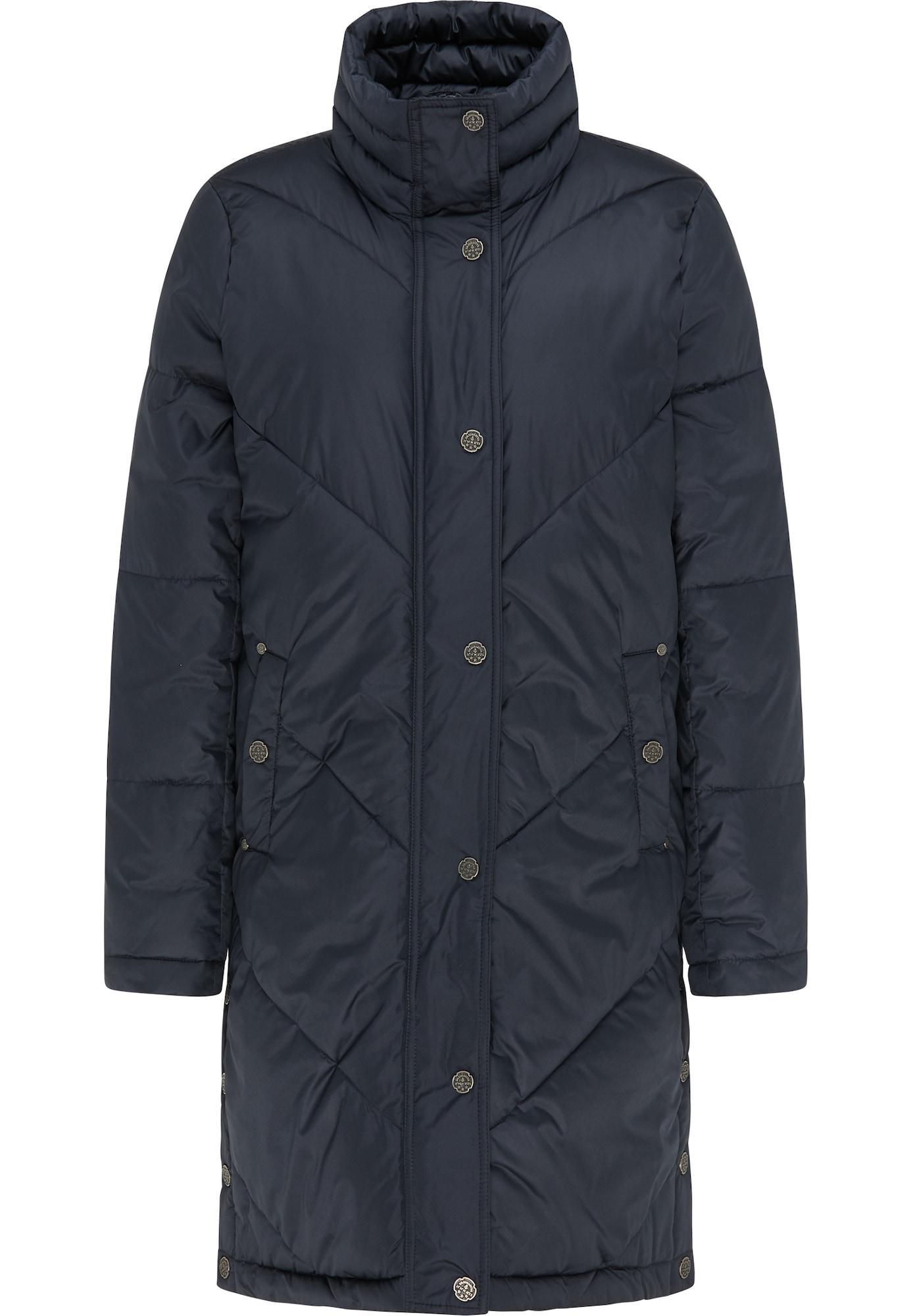 DreiMaster Vintage Žieminis paltas tamsiai mėlyna
