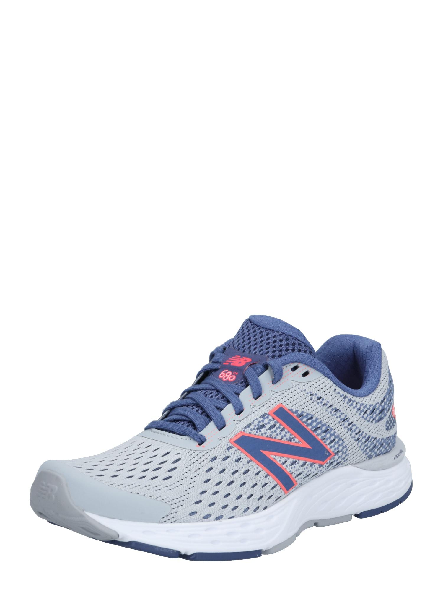 new balance Bėgimo batai purpurinė / pilka / melsvai pilka