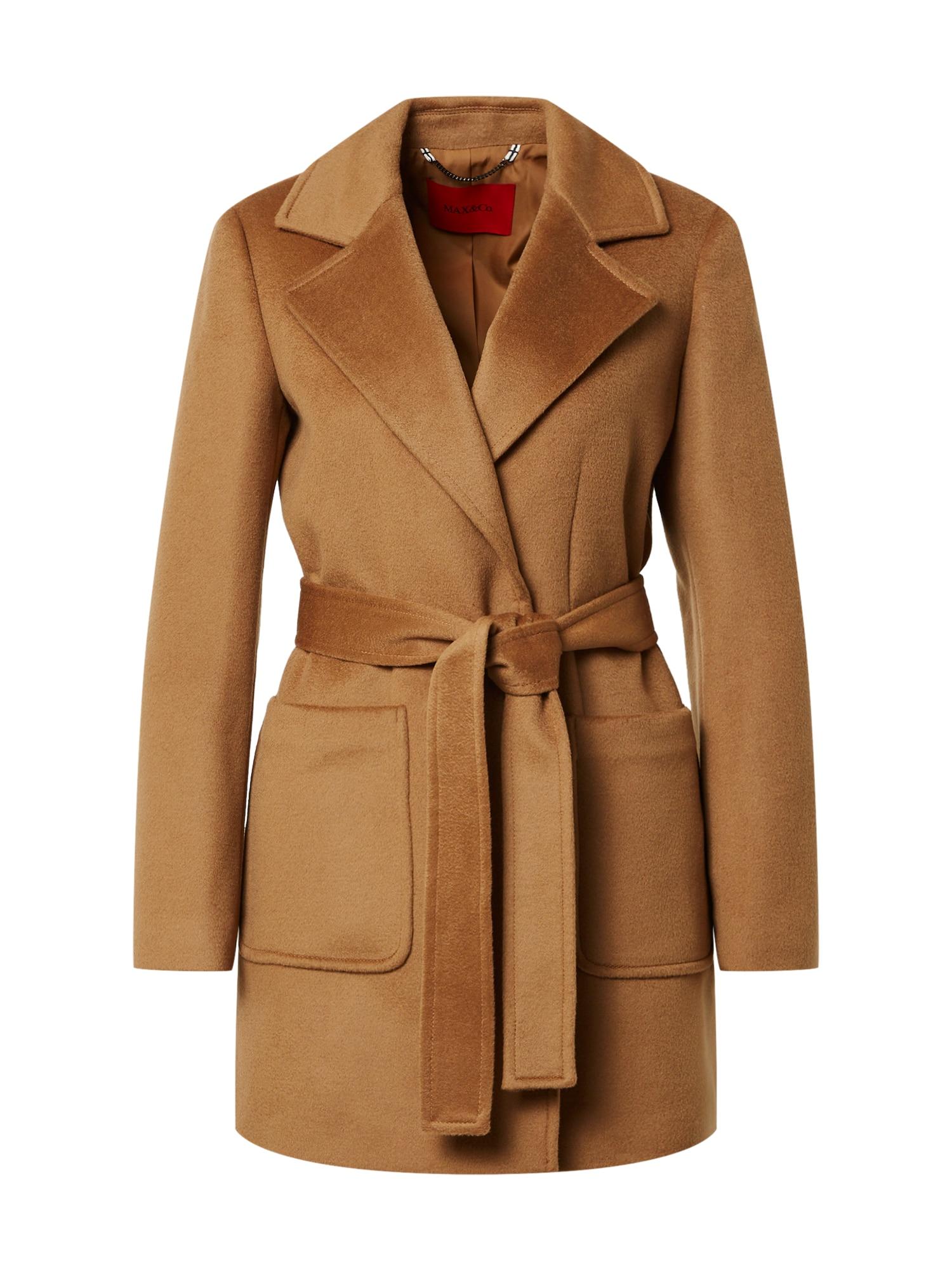 MAX&Co. Demisezoninis paltas ruda