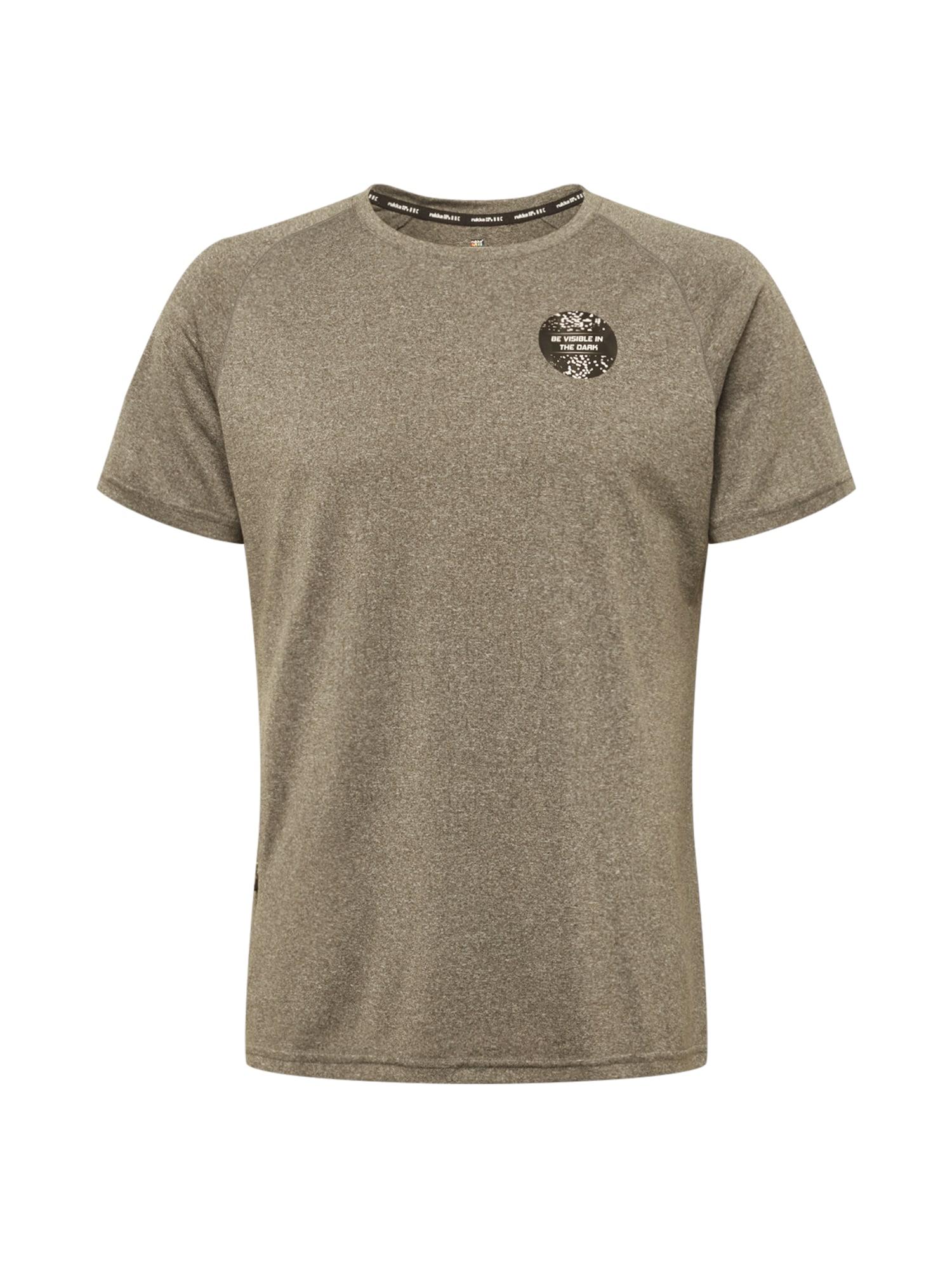 Rukka Sportiniai marškinėliai rusvai pilka