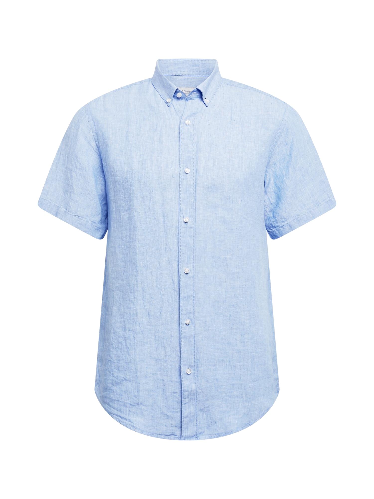 Bruun & Stengade Marškiniai šviesiai mėlyna