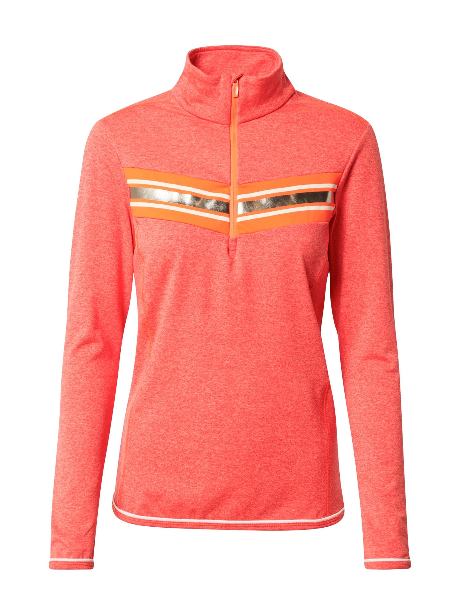 CMP Sportinio tipo megztinis auksas / oranžinė / balta / oranžinė-raudona
