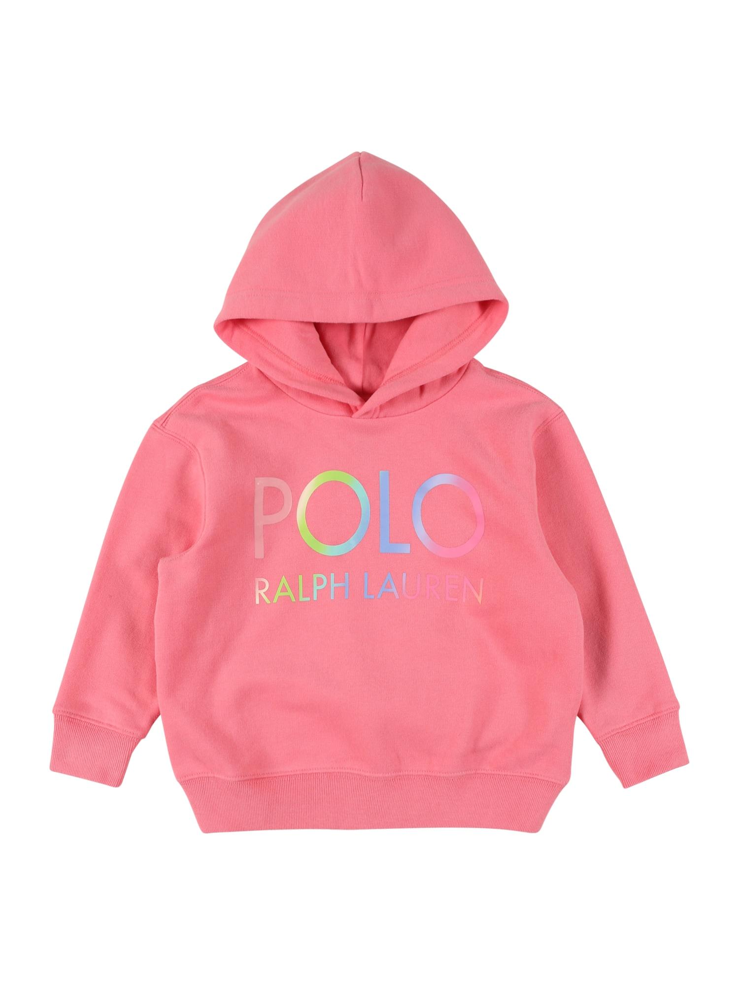 POLO RALPH LAUREN Megztinis be užsegimo rožinė / mišrios spalvos