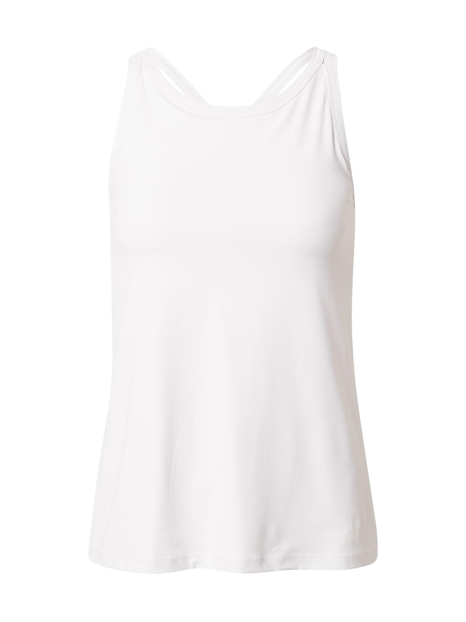 CURARE Yogawear Sportiniai marškinėliai be rankovių balta