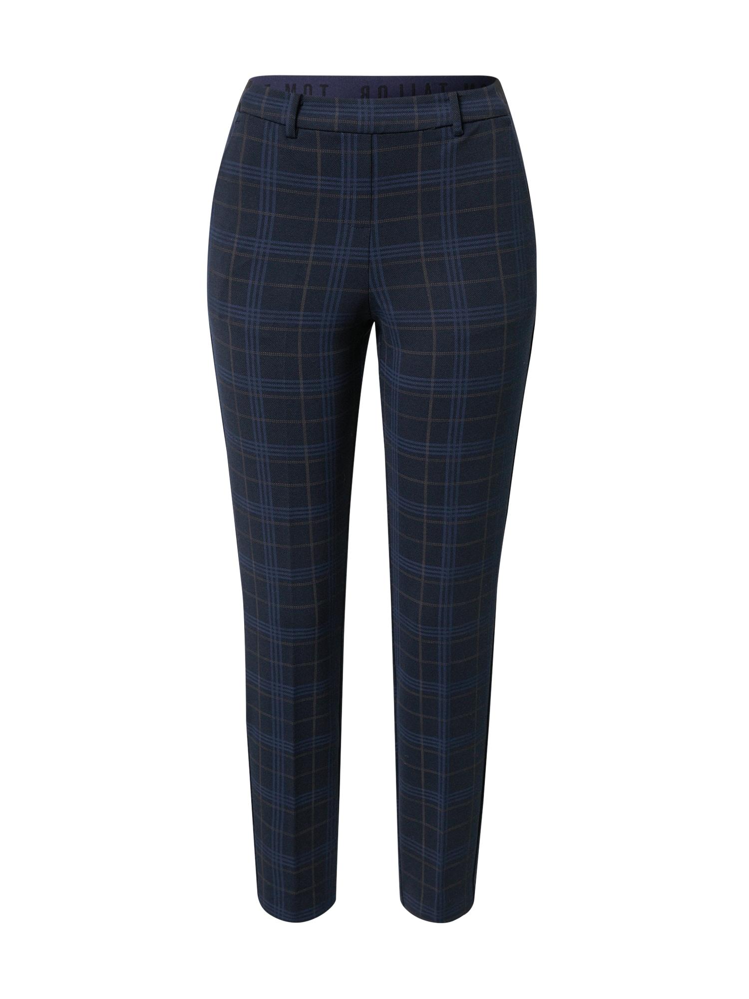TOM TAILOR Chino kalhoty  noční modrá / ultramarínová modř