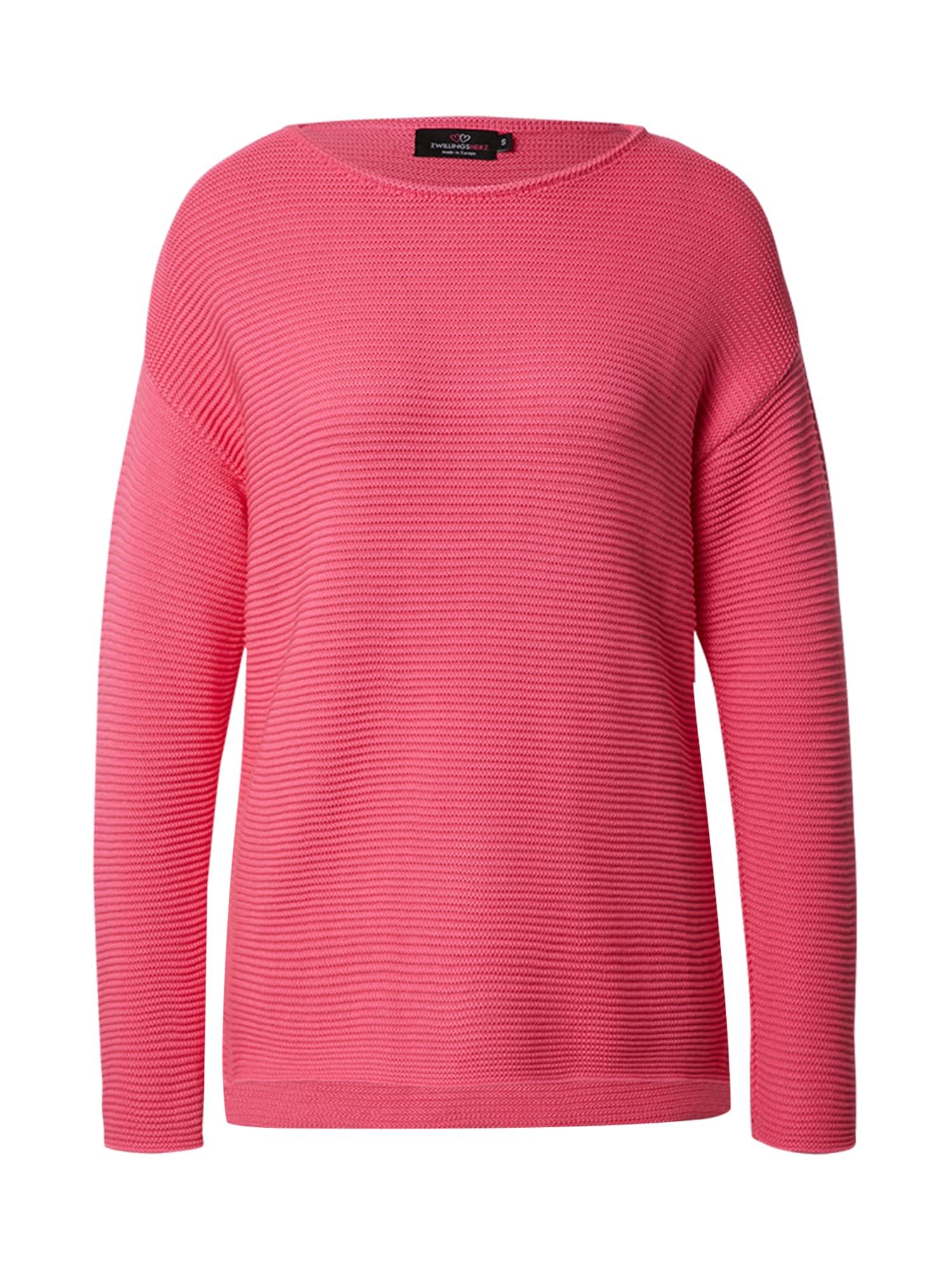 Zwillingsherz Megztinis pitajų spalva