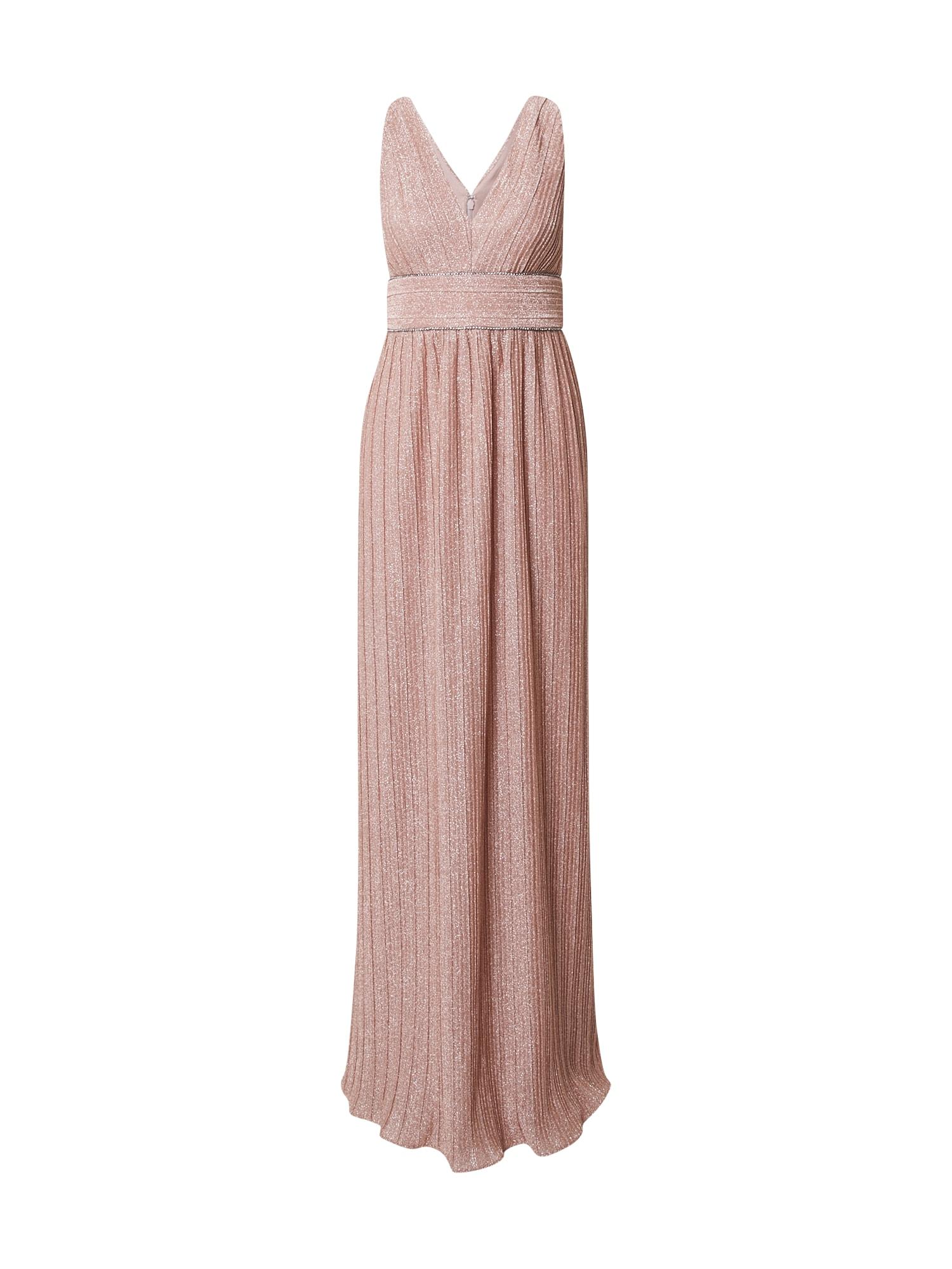Adrianna Papell Vakarinė suknelė ryškiai rožinė spalva