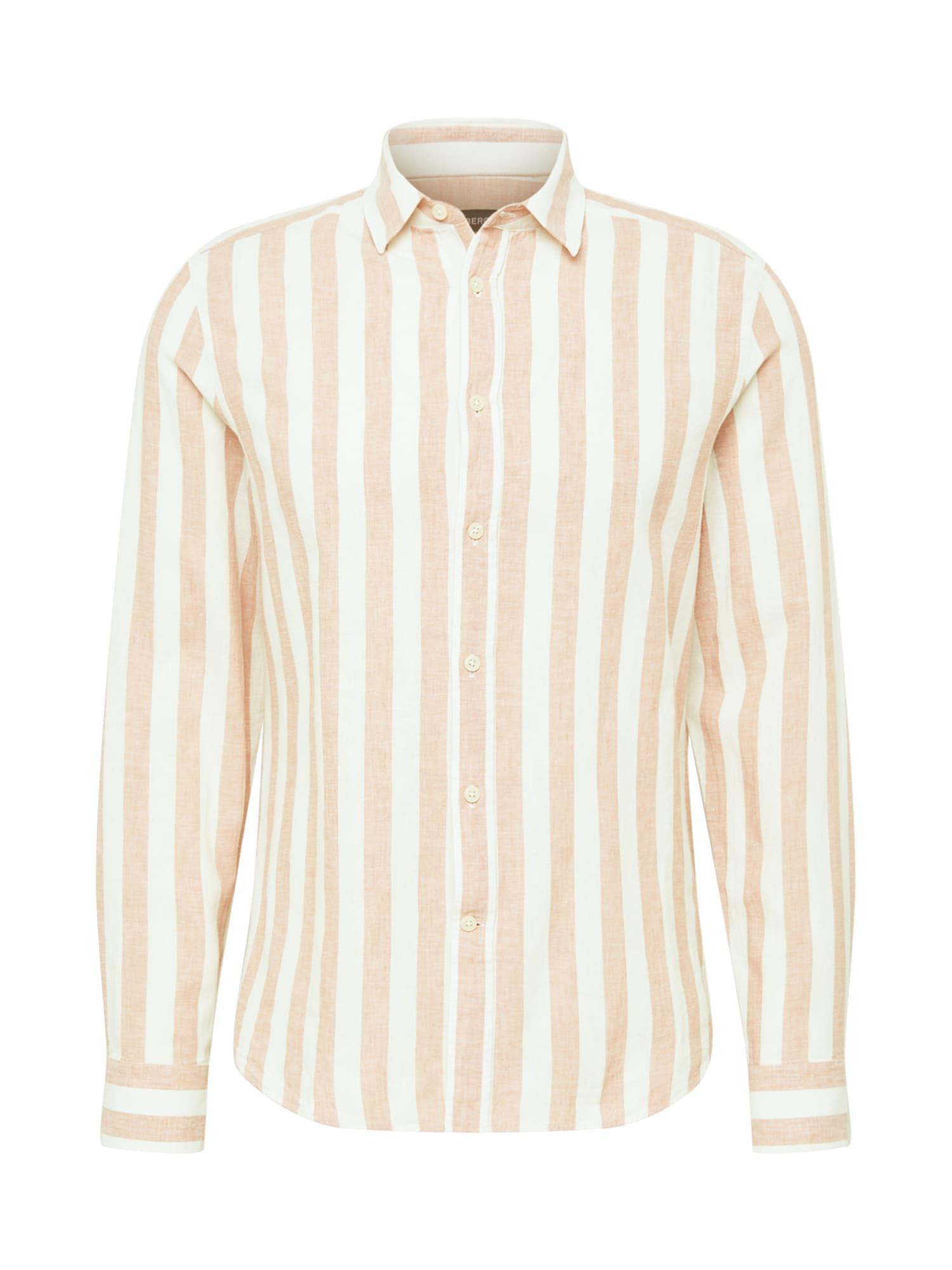 J.Lindeberg Marškiniai balta / smėlio