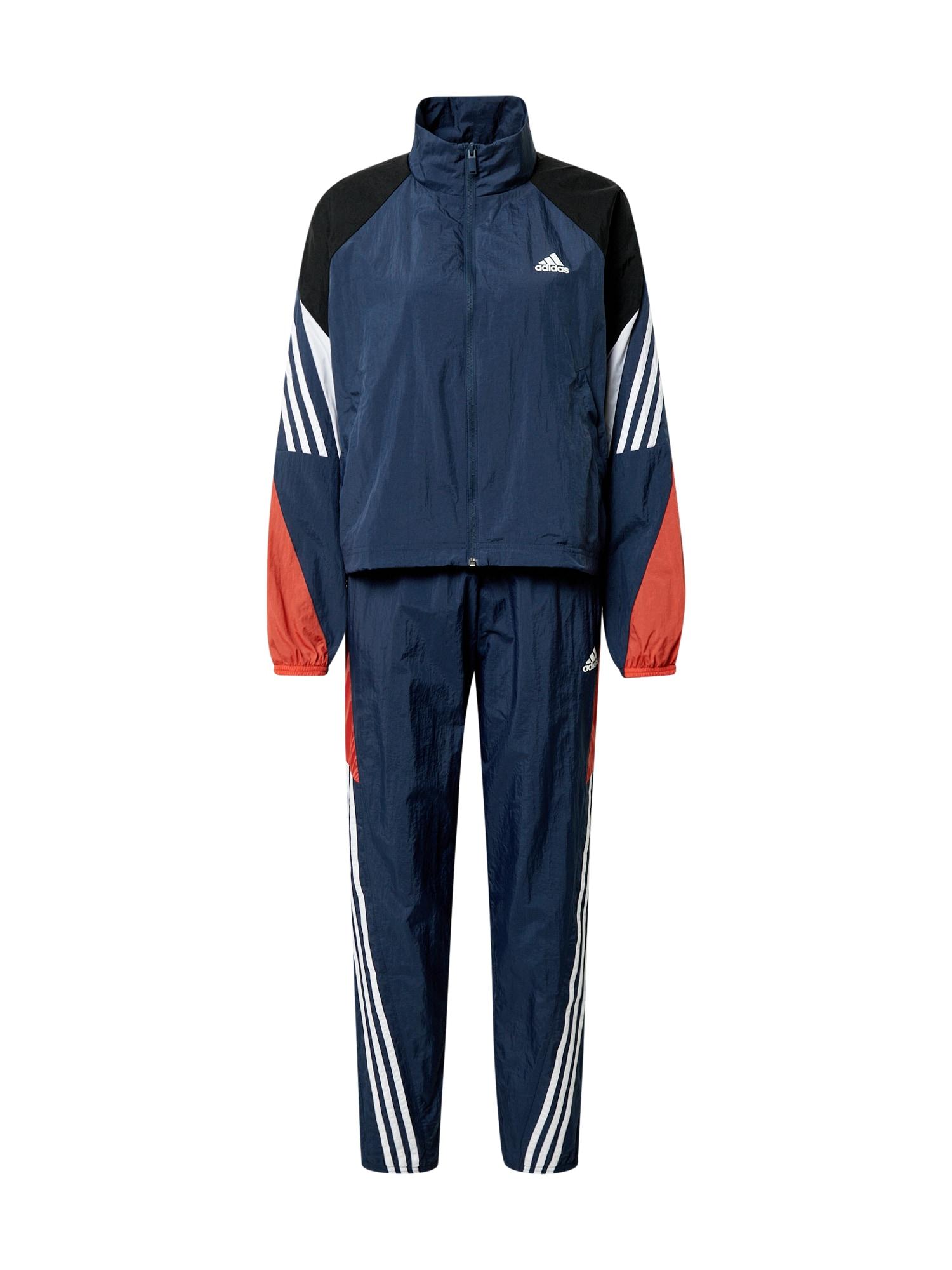 ADIDAS PERFORMANCE Sportinis kostiumas 'GAMETI' tamsiai mėlyna / raudona / balta / juoda