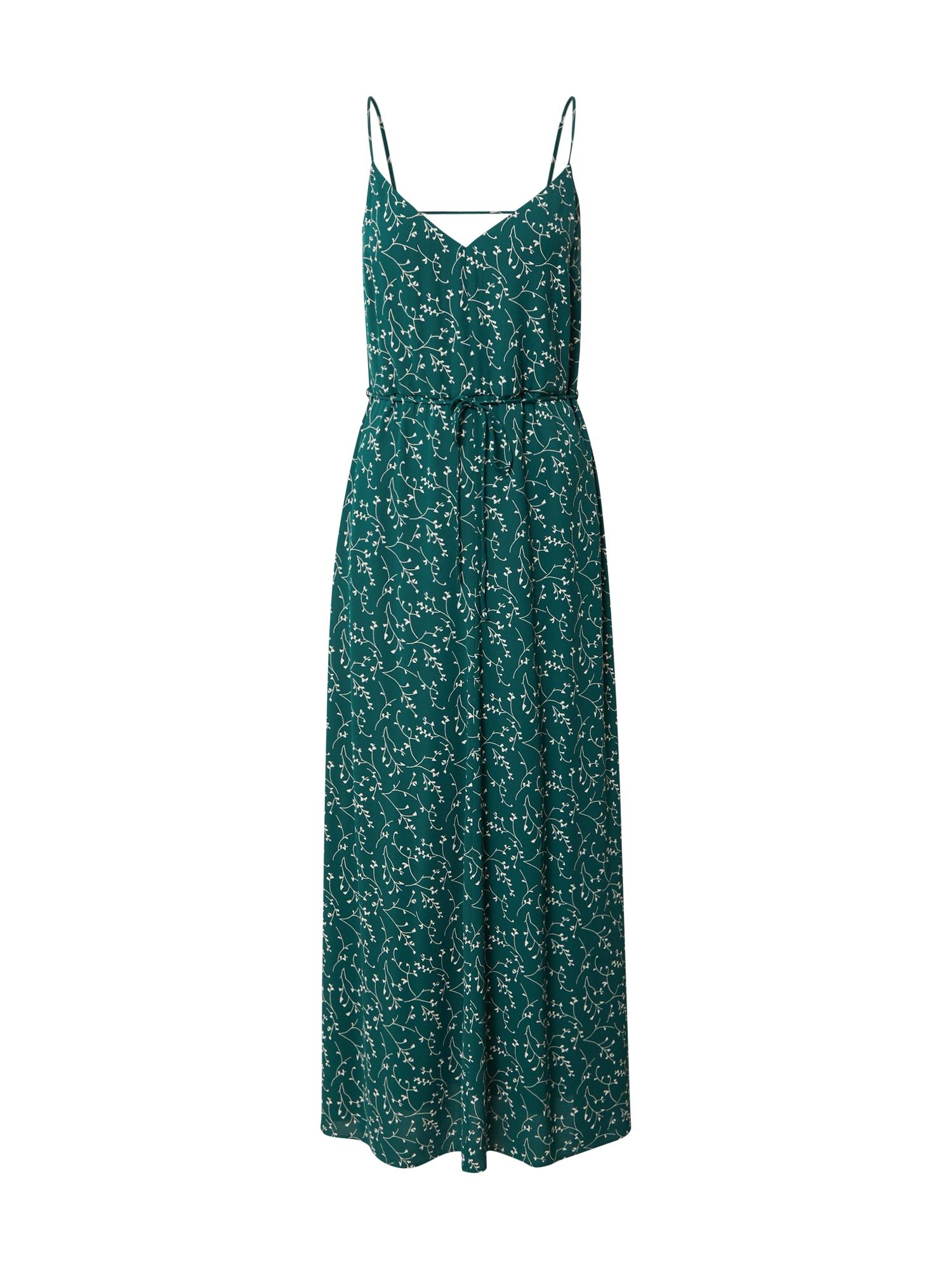 IVY & OAK Letní šaty  bílá / petrolejová