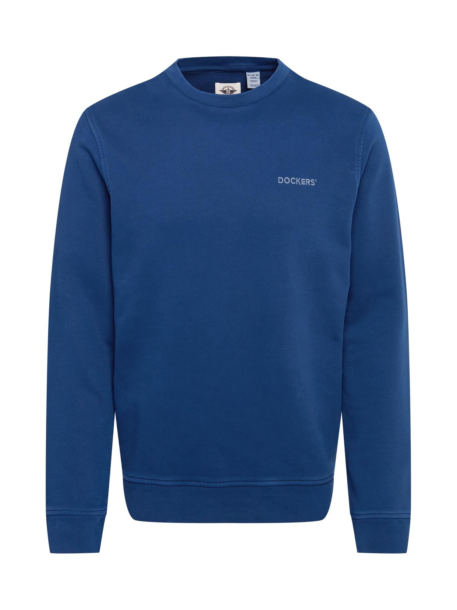 Dockers Megztinis be užsegimo mėlyna / šviesiai mėlyna