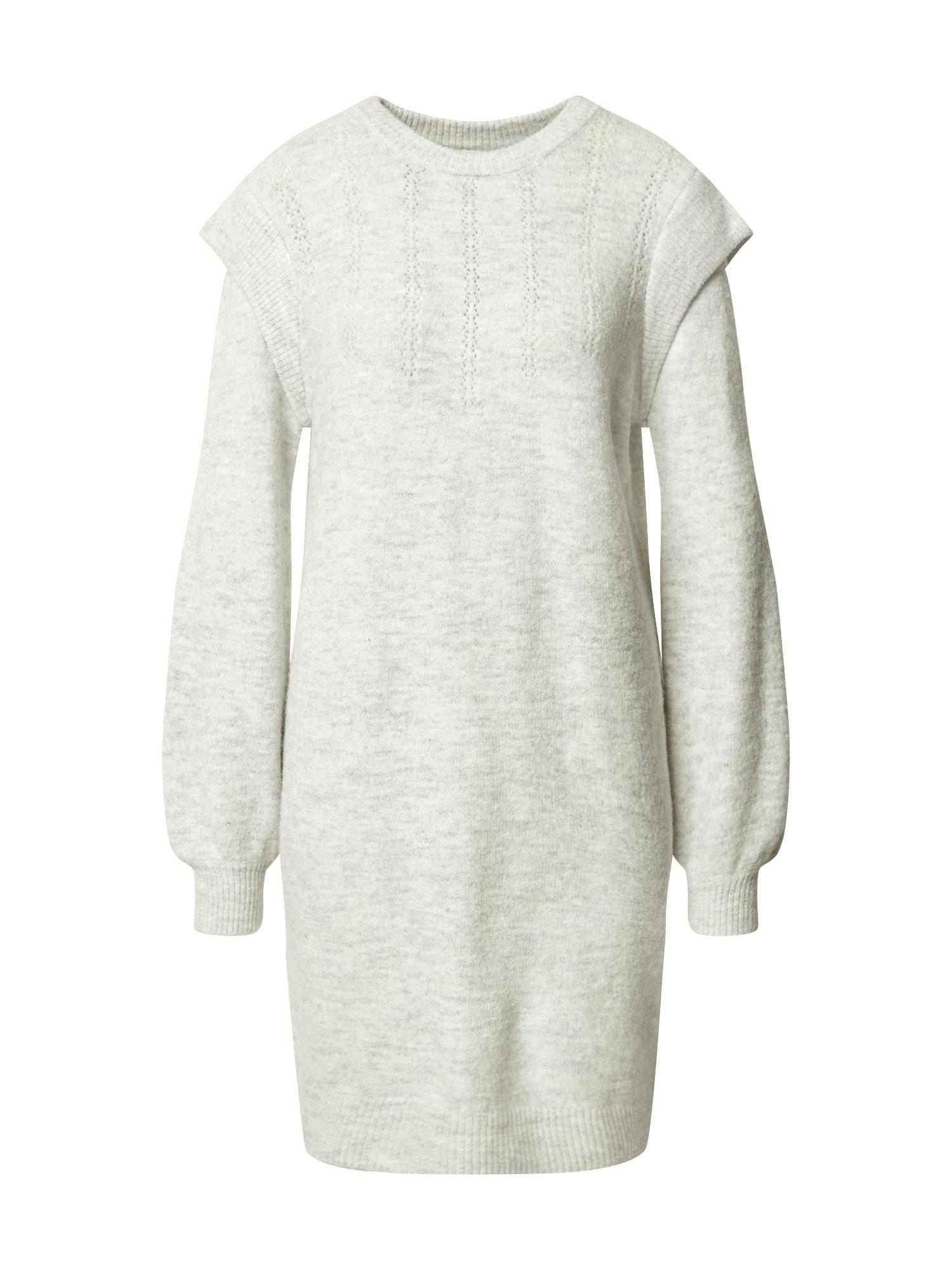 Pimkie Úpletové šaty  světle šedá