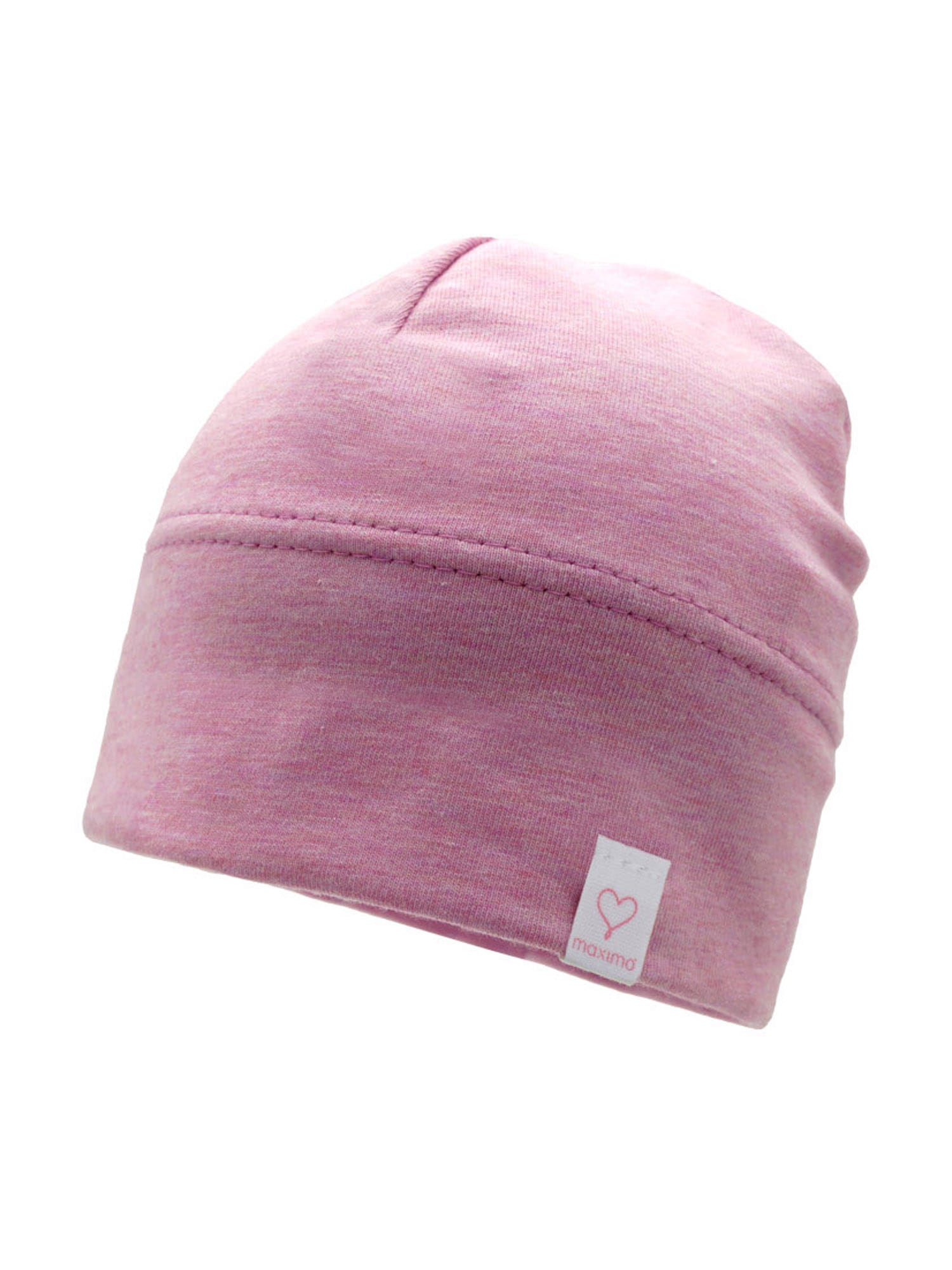 MAXIMO Megzta kepurė ryškiai rožinė spalva