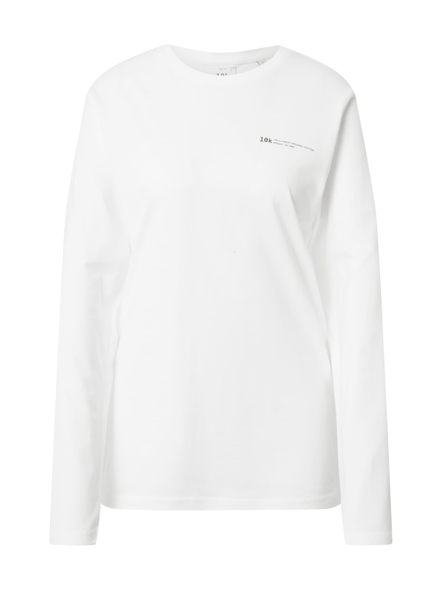 10k Marškinėliai balta