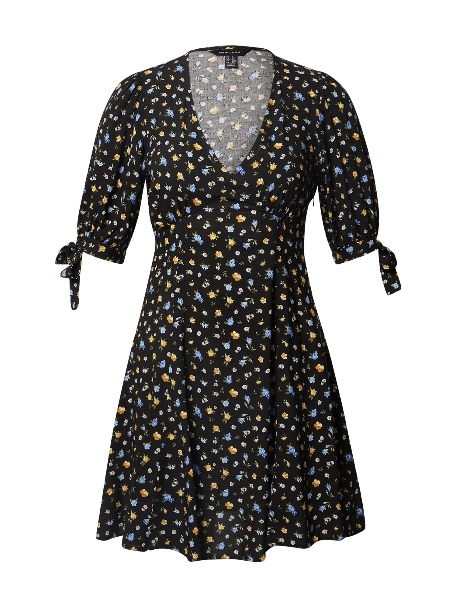 NEW LOOK Šaty  černá / mix barev