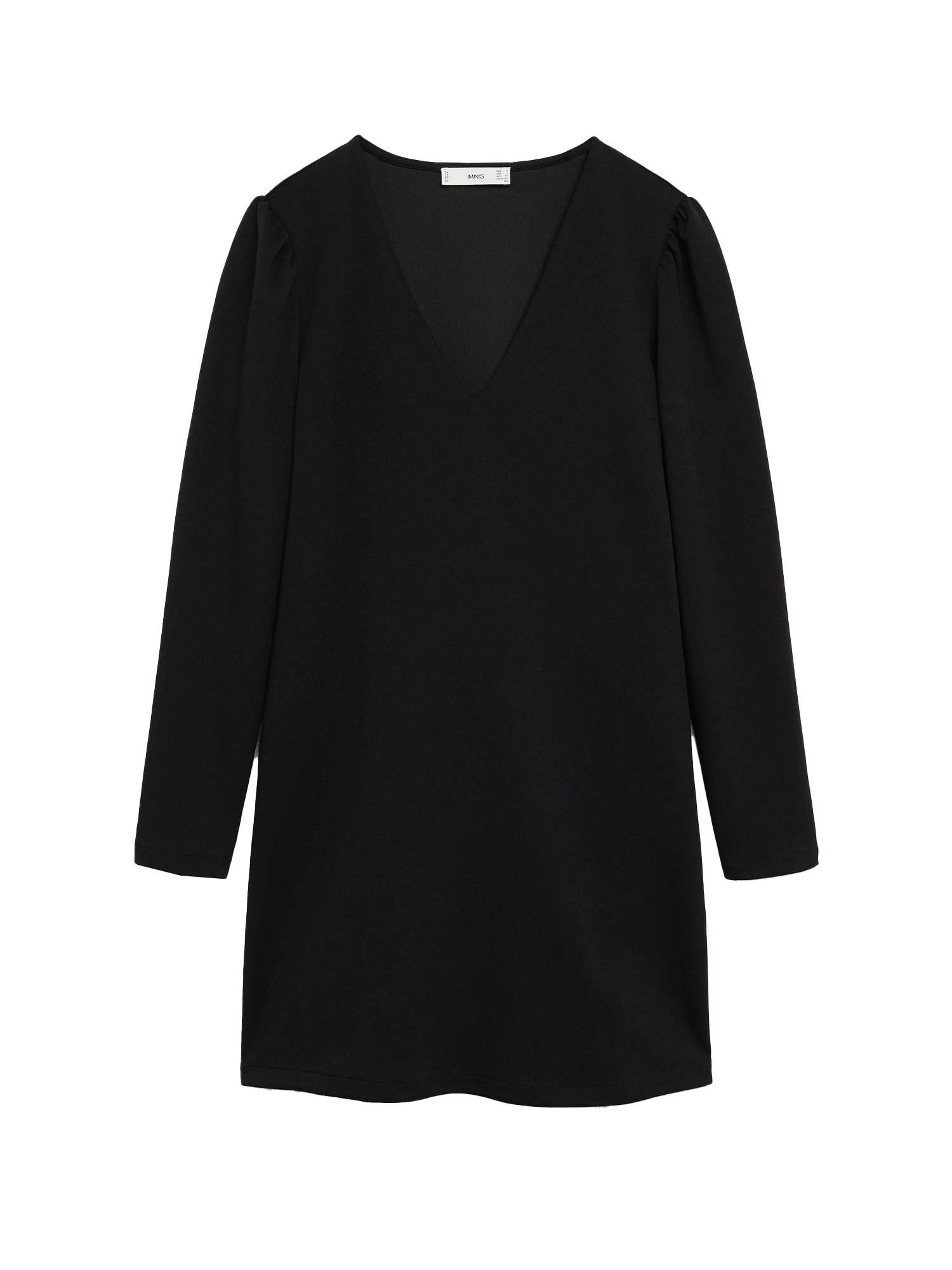 MANGO Šaty 'Carolina'  černá