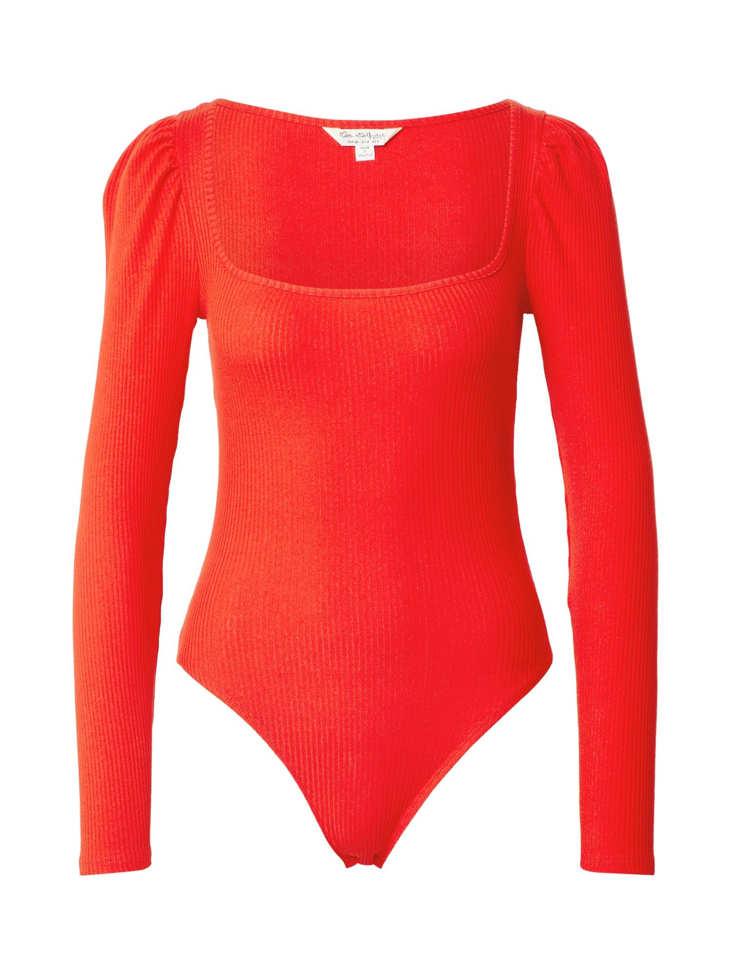Miss Selfridge Marškinėliai-glaustinukė raudona