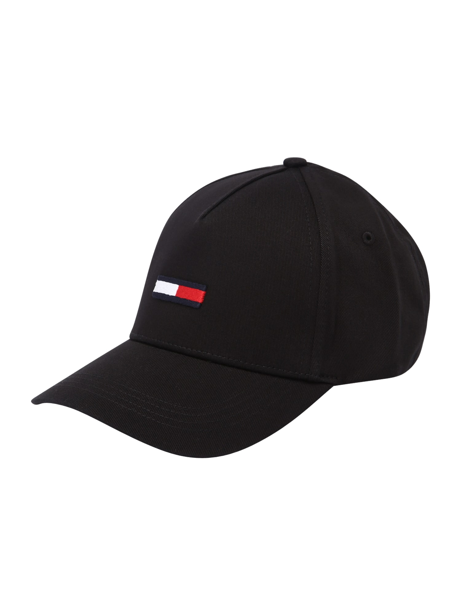 Tommy Jeans Čepice  černá / bílá / červená