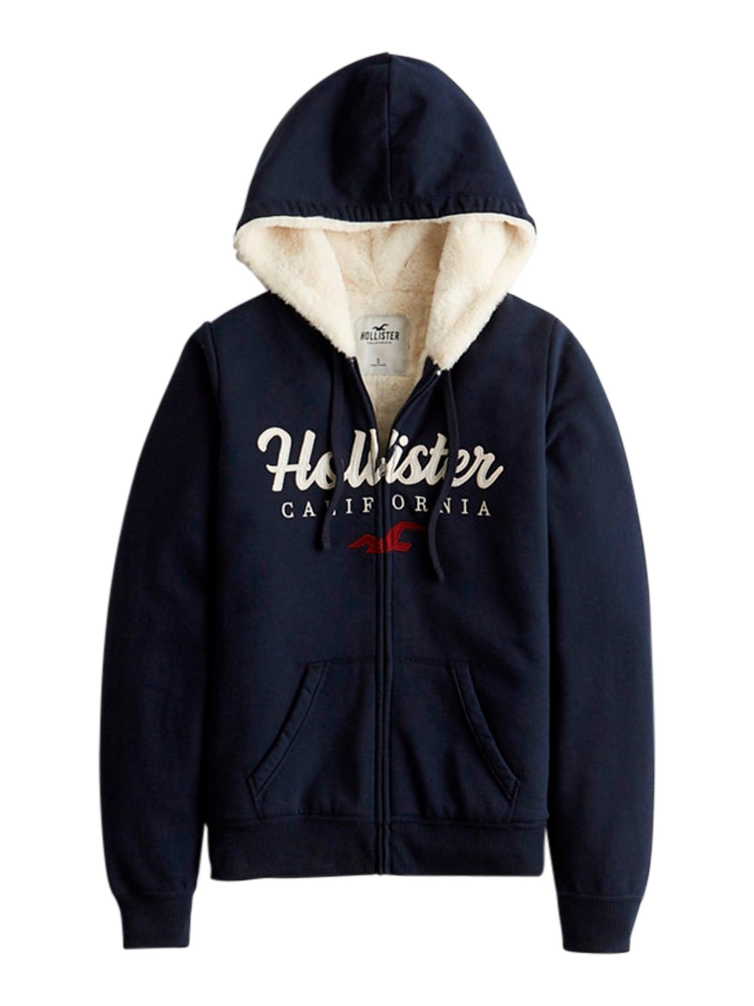 HOLLISTER Džemperis tamsiai mėlyna / balta / raudona